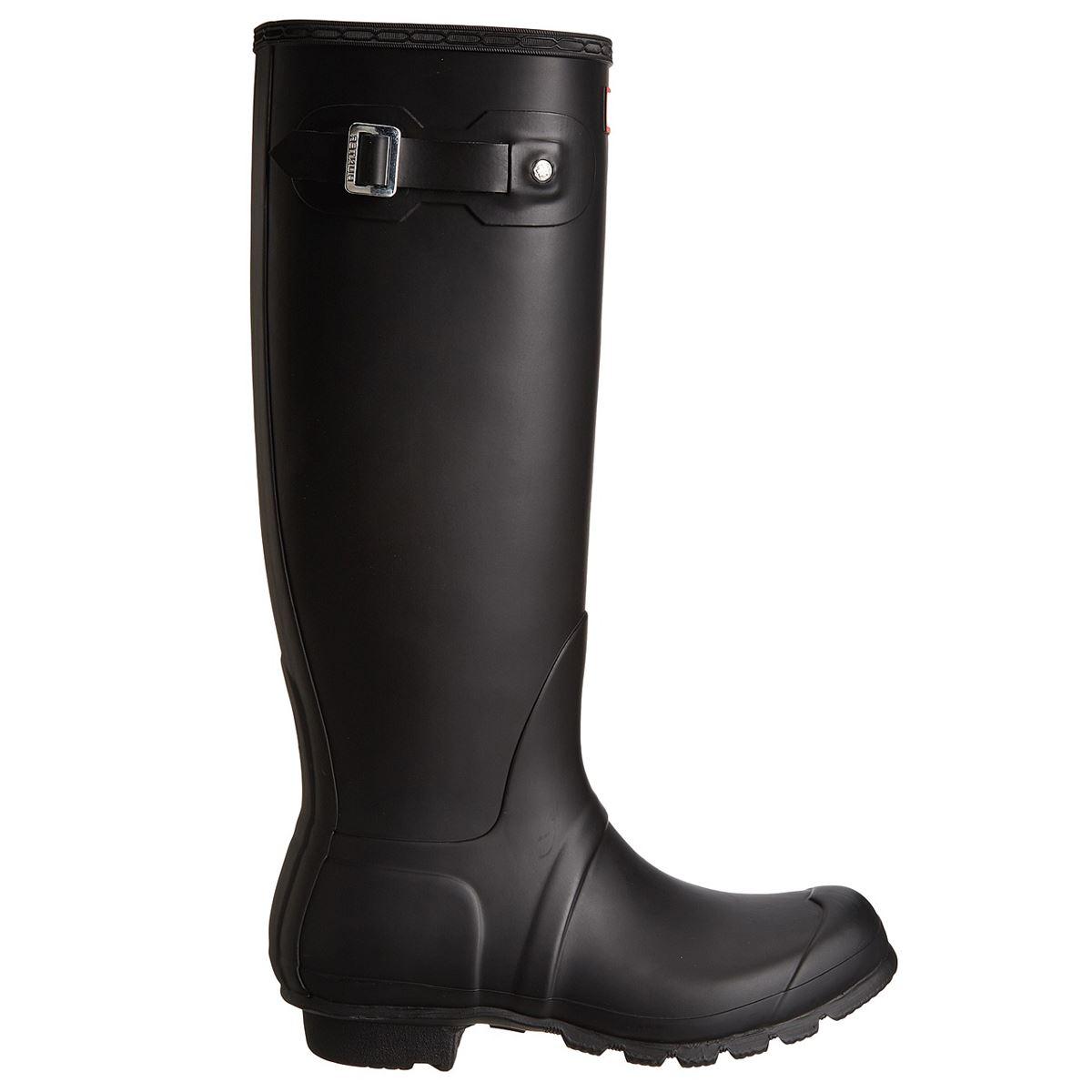 Hunter Original Tall Black Womens Wellies Rainboots   eBay