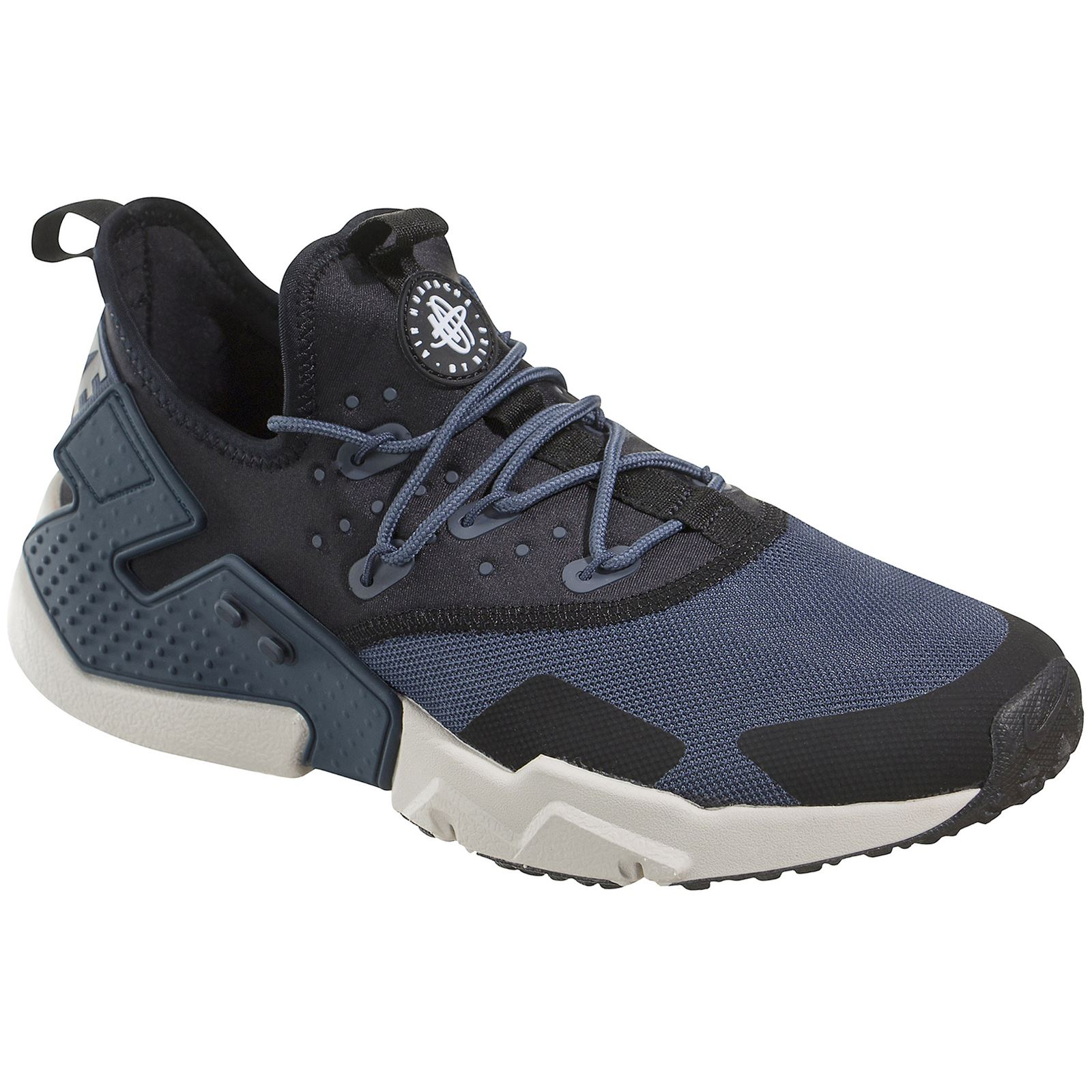 2877698e480 Details about Nike Air Huarache Drift Thunder Blue Black Mens Mesh Low-top  Cushioning Trainers