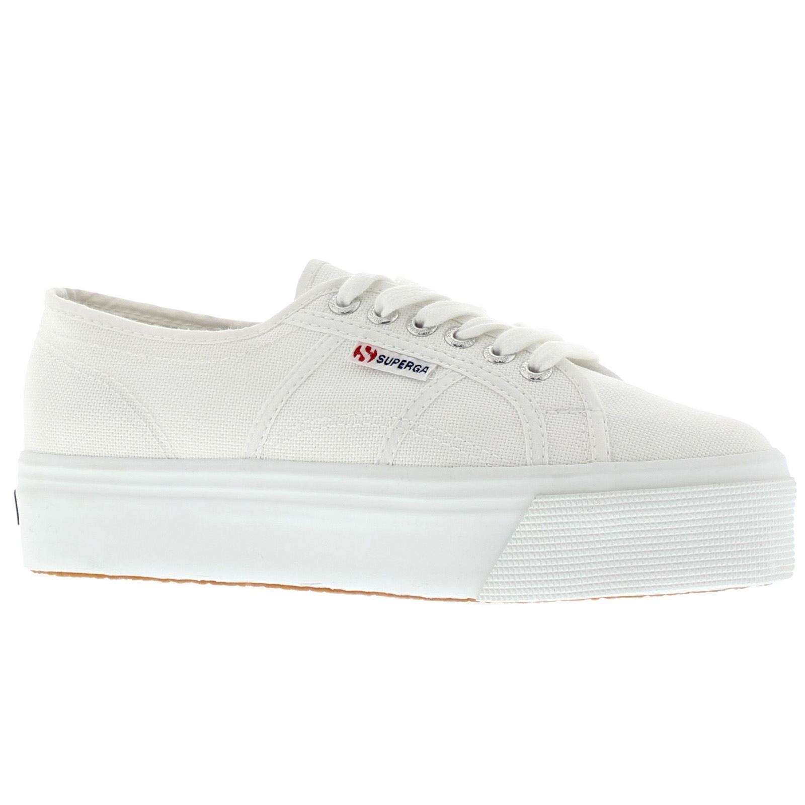 9dccf802a90 Superga 2790 Acotw Linea Up And Down White Womens Shoes