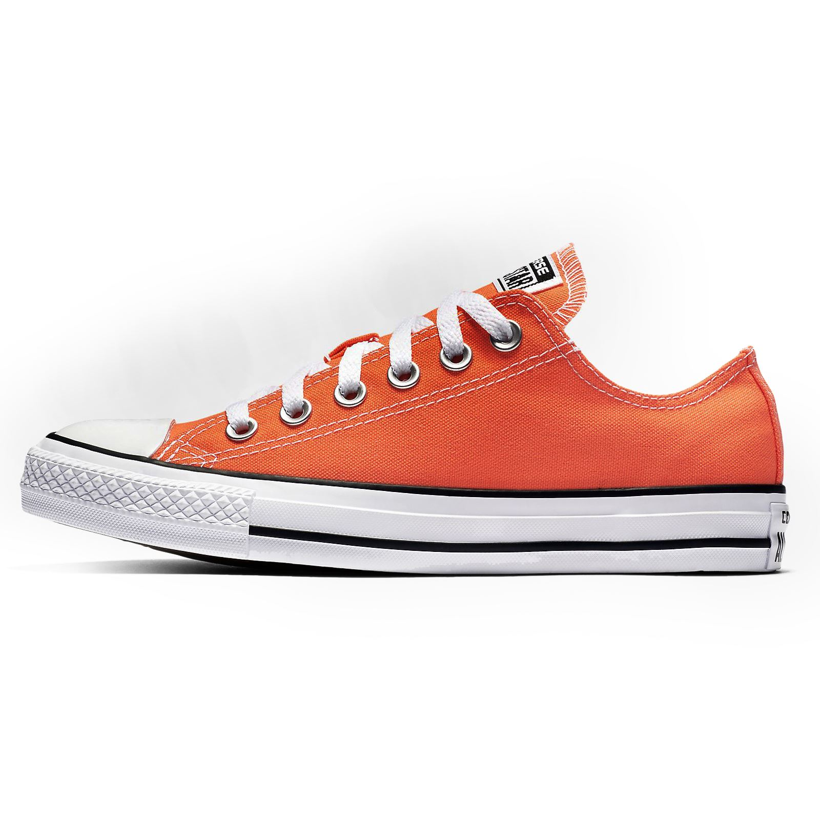 Converse CTAS Ox Hyper Orange Womens Low Top Trainers