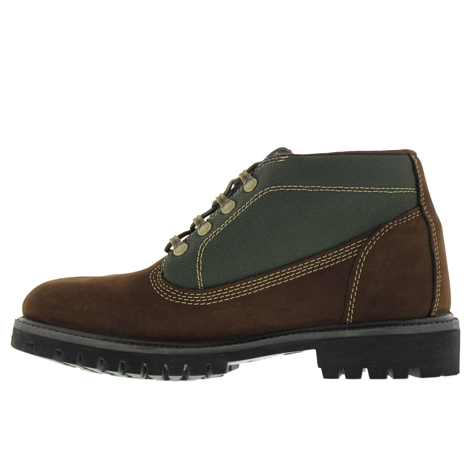 timberland 6 inch csite brown mens boots