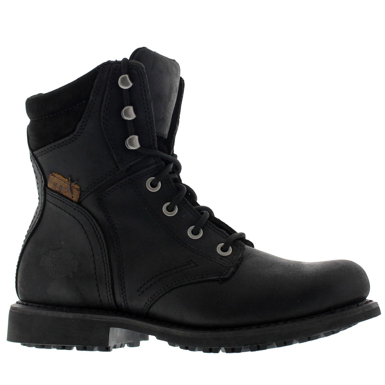 harley davidson darnel black herren boots ebay. Black Bedroom Furniture Sets. Home Design Ideas