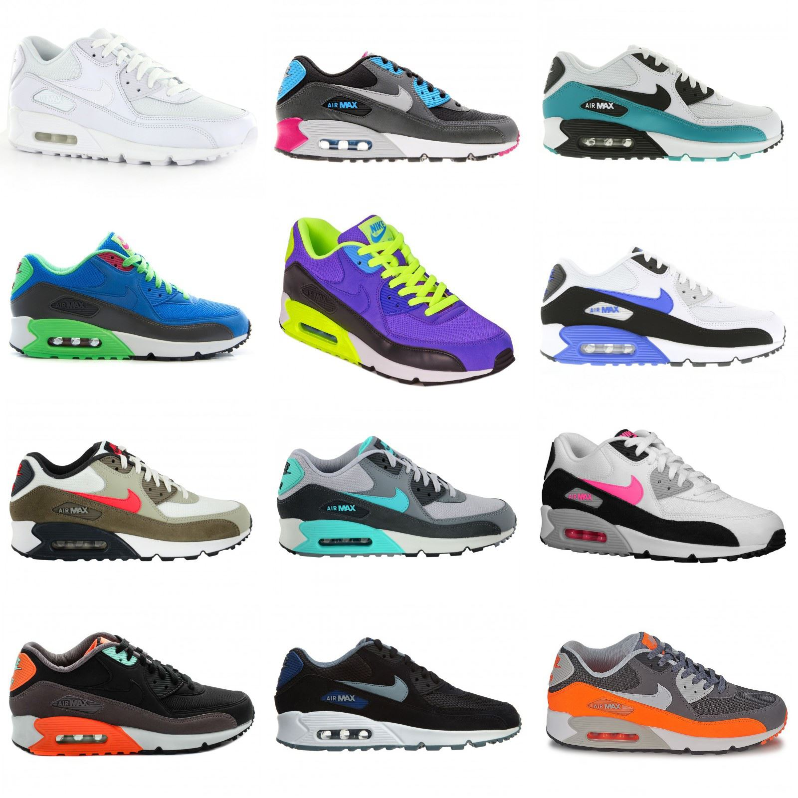 pretty nice d6343 baa93 Nike Air Max 90 Essential Leather Mens Trainers