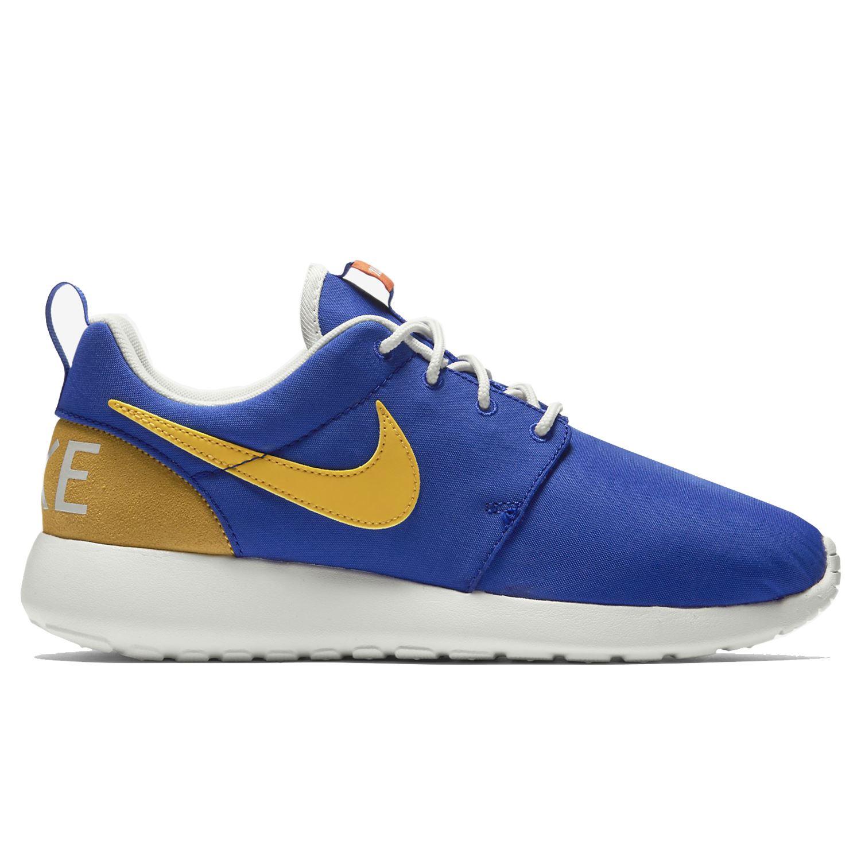Nike Roshe One Retro Blue Yellow Womens Trainers
