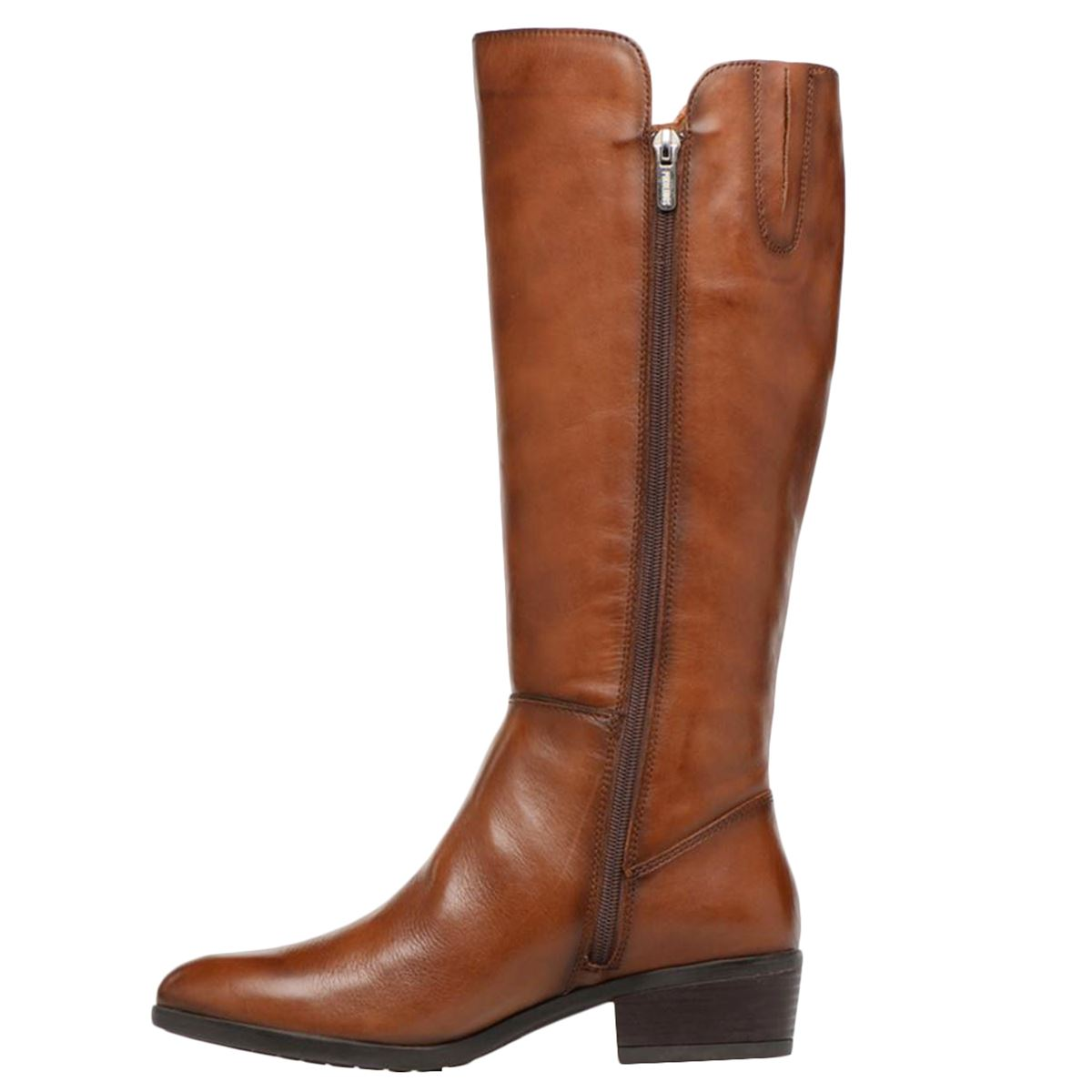 2ff9712240b6 Pikolinos Daroca Leather High-profile Knee-High Zip-Up Womens Boots ...