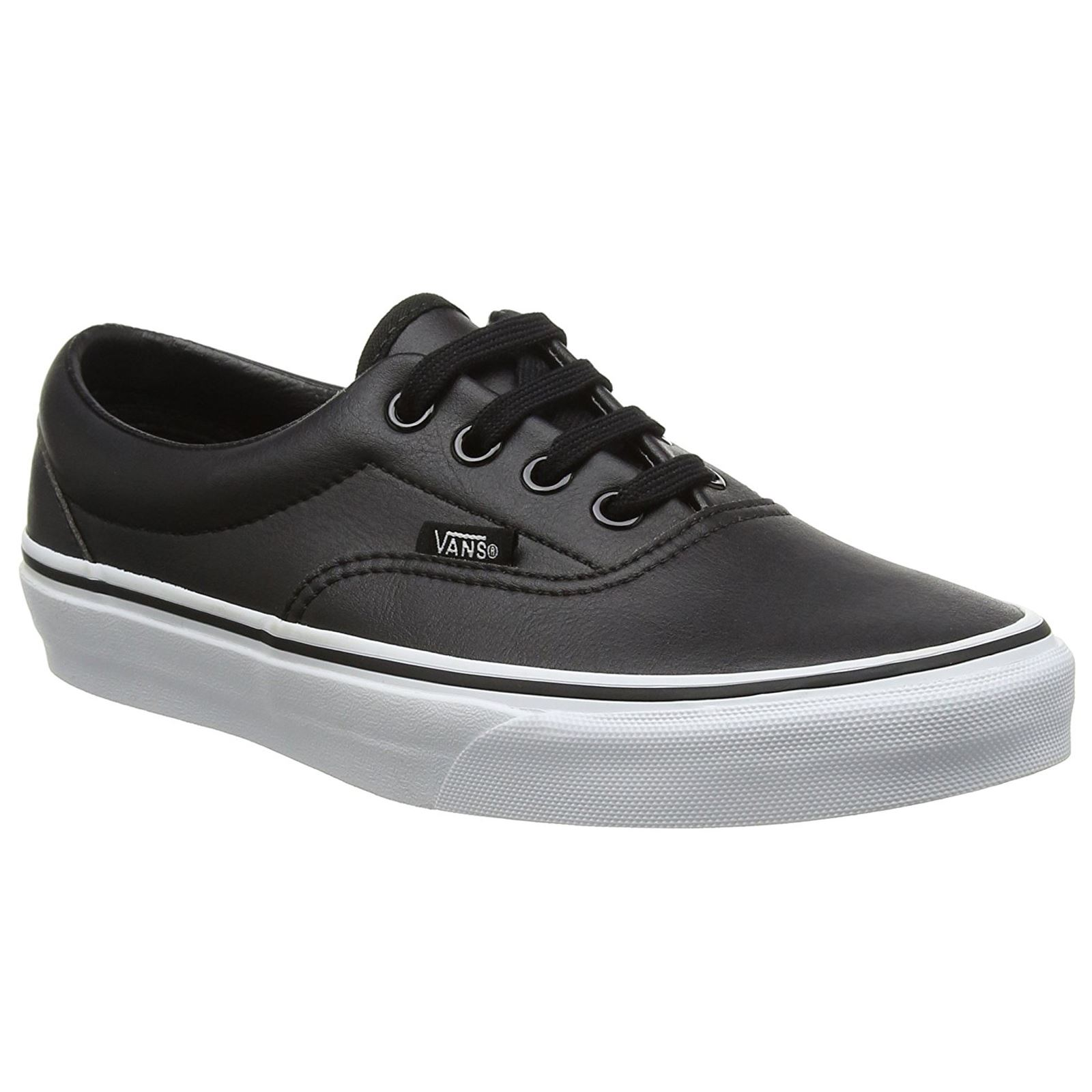 Description: Vans Classic Tumble Era Black True White ...