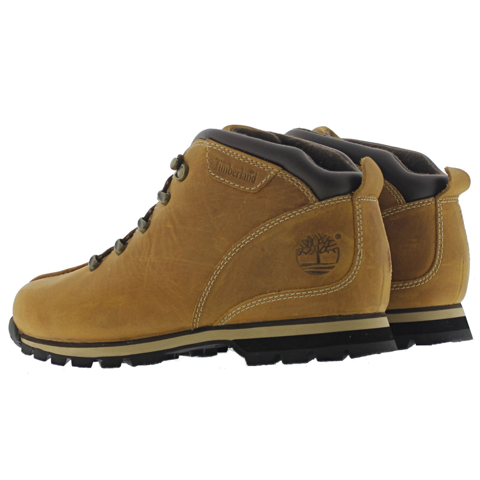 timberland splitrock hiker wheat mens boots ebay