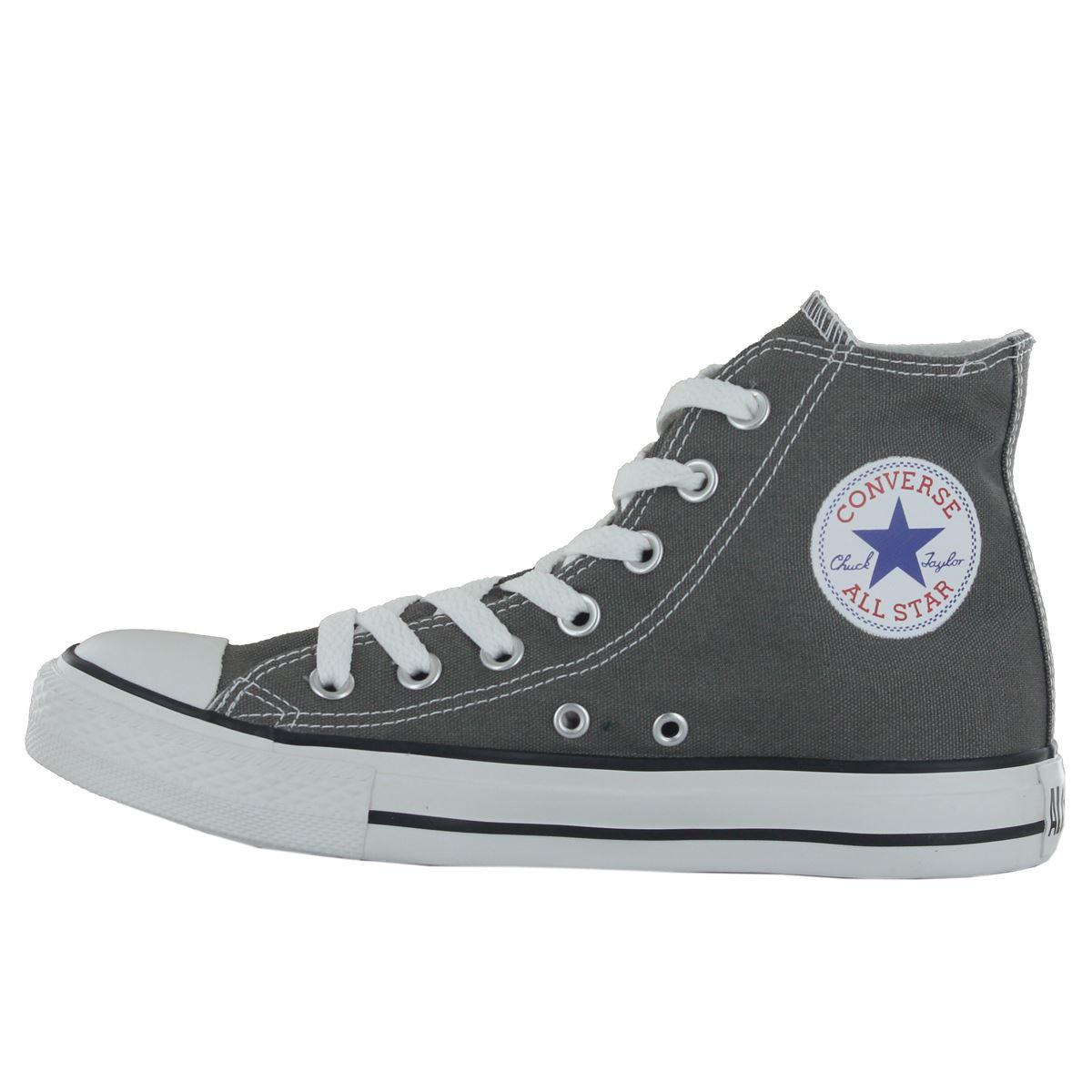 Converse-Chuck-Taylor-All-Star-Hi-Canvas-Mens-Womens-Ladies-Unisex-Trainers miniatuur 20