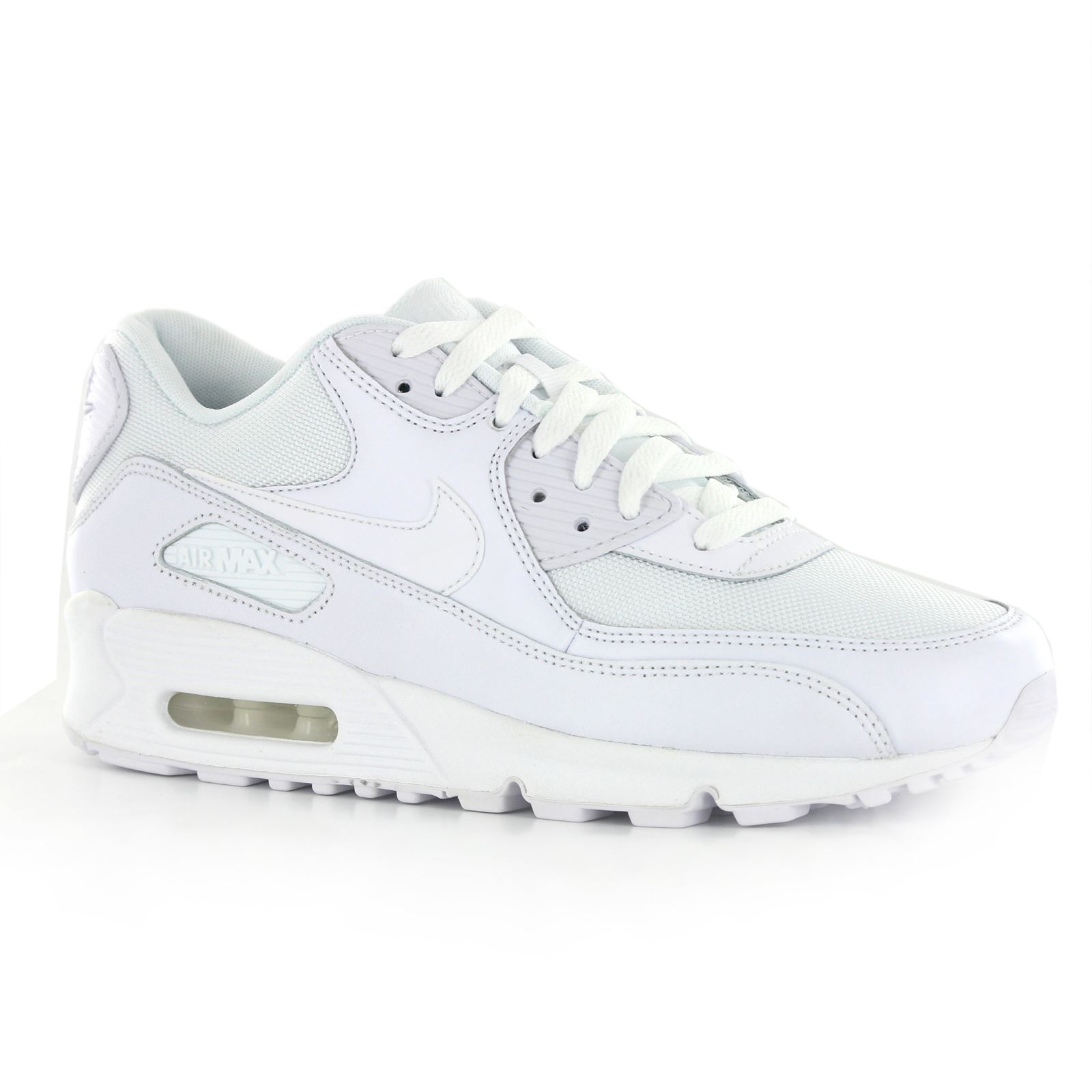 finest selection 6da69 ad44a Nike-Air-Max-90-Essential-Leather-Mens-Trainers thumbnail