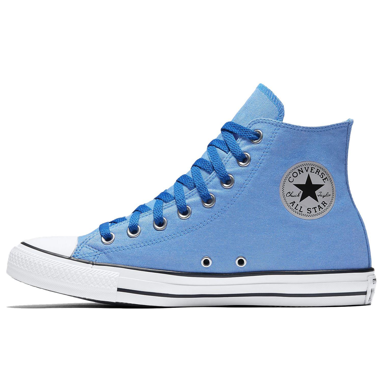b85d1bbc3f7 Converse Chuck Taylor All Star Hi Soar White Womens Canvas Hi-top Ankle  Trainers