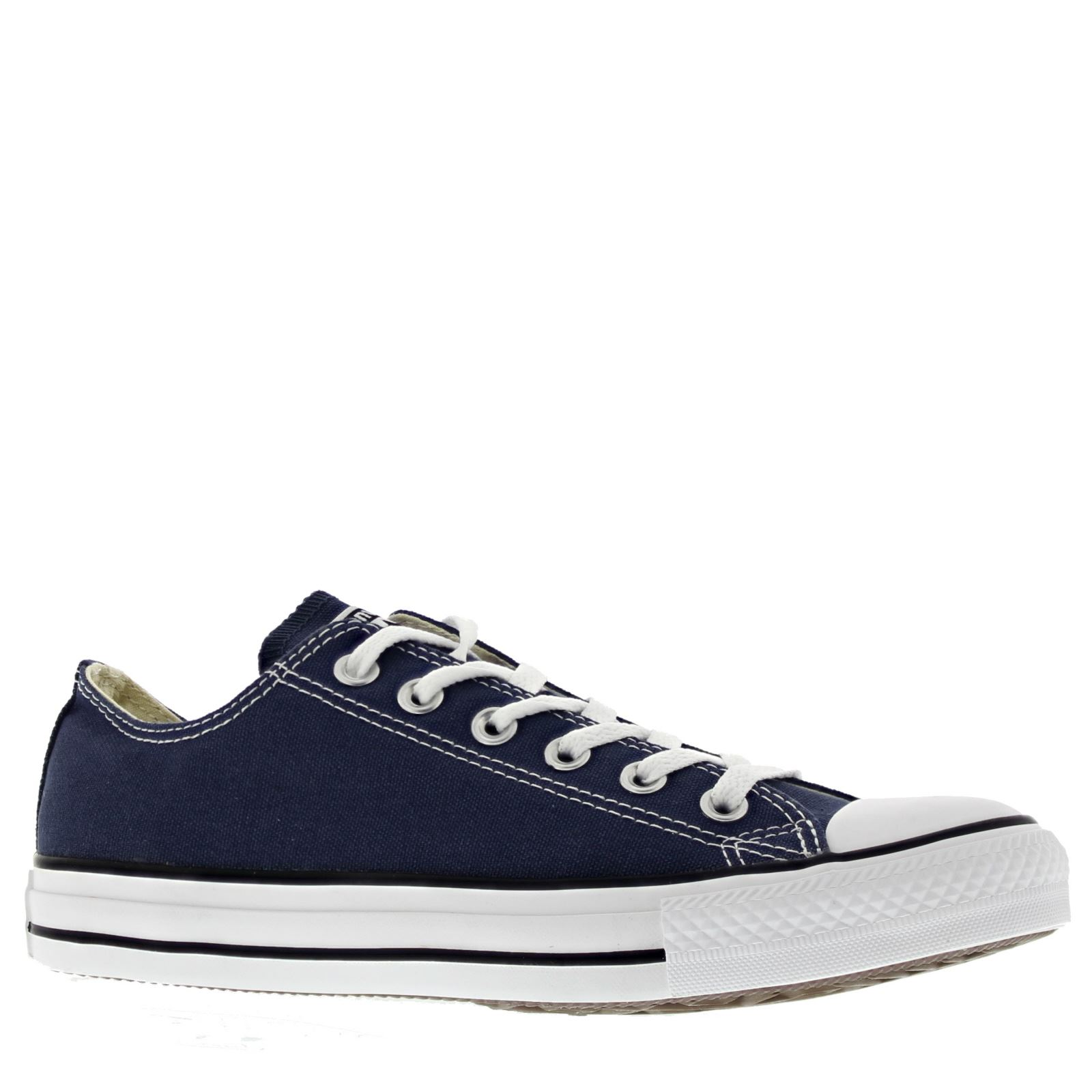 33c2ce50a2e4f7 Converse Chuck Taylor All Star Ox Lowtop Navy Canvas Mens Trainers Sneakers