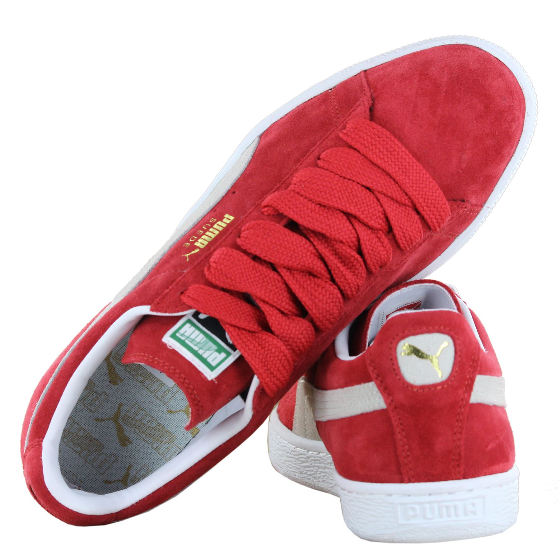 Puma Classic Suede Women Men Unisex Retro Low Top Trainers
