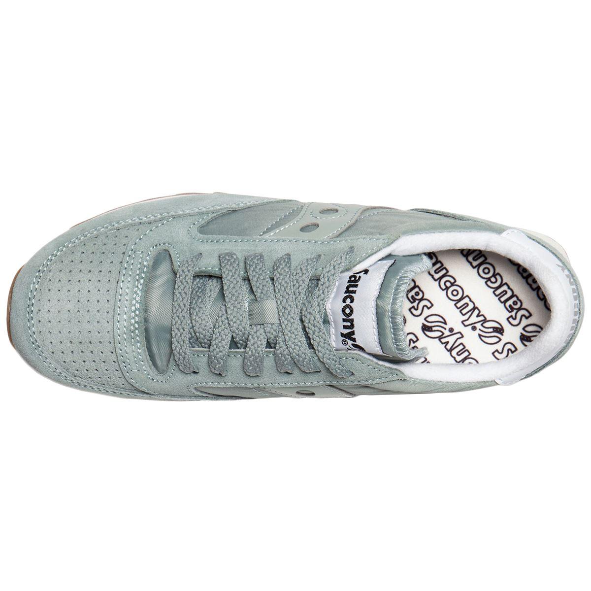 Saucony Saucony Saucony Jazz Original Vintage Suede Textile Sneakers Womens Trainers 826e2b