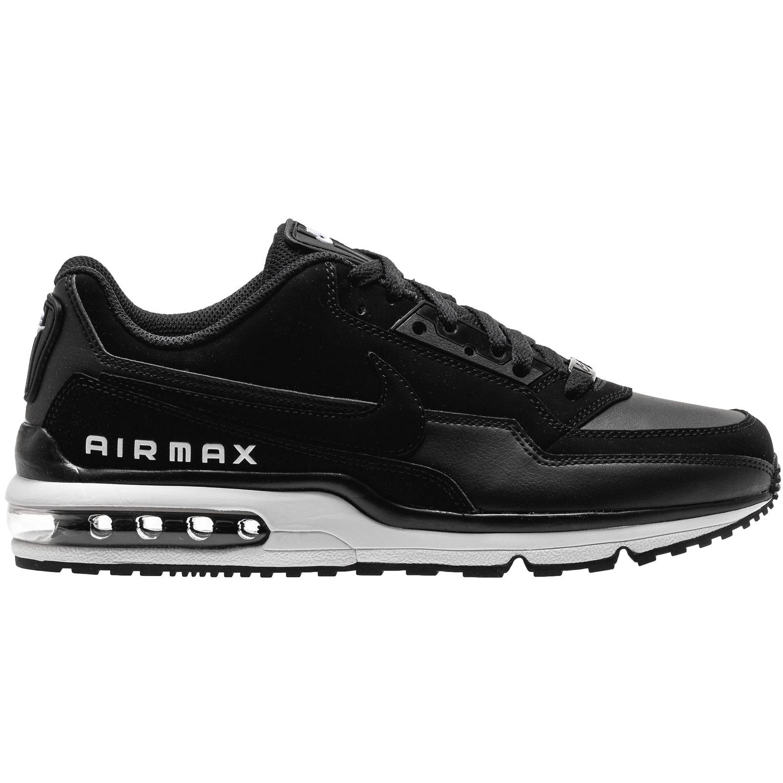 Description: The black Nike Air Max LTD 3 men's trainers ...