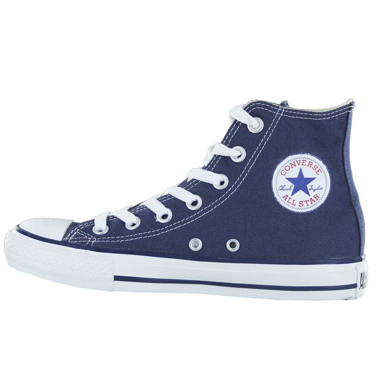 Converse-Chuck-Taylor-All-Star-Hi-Canvas-Mens-Womens-Ladies-Unisex-Trainers miniatuur 13