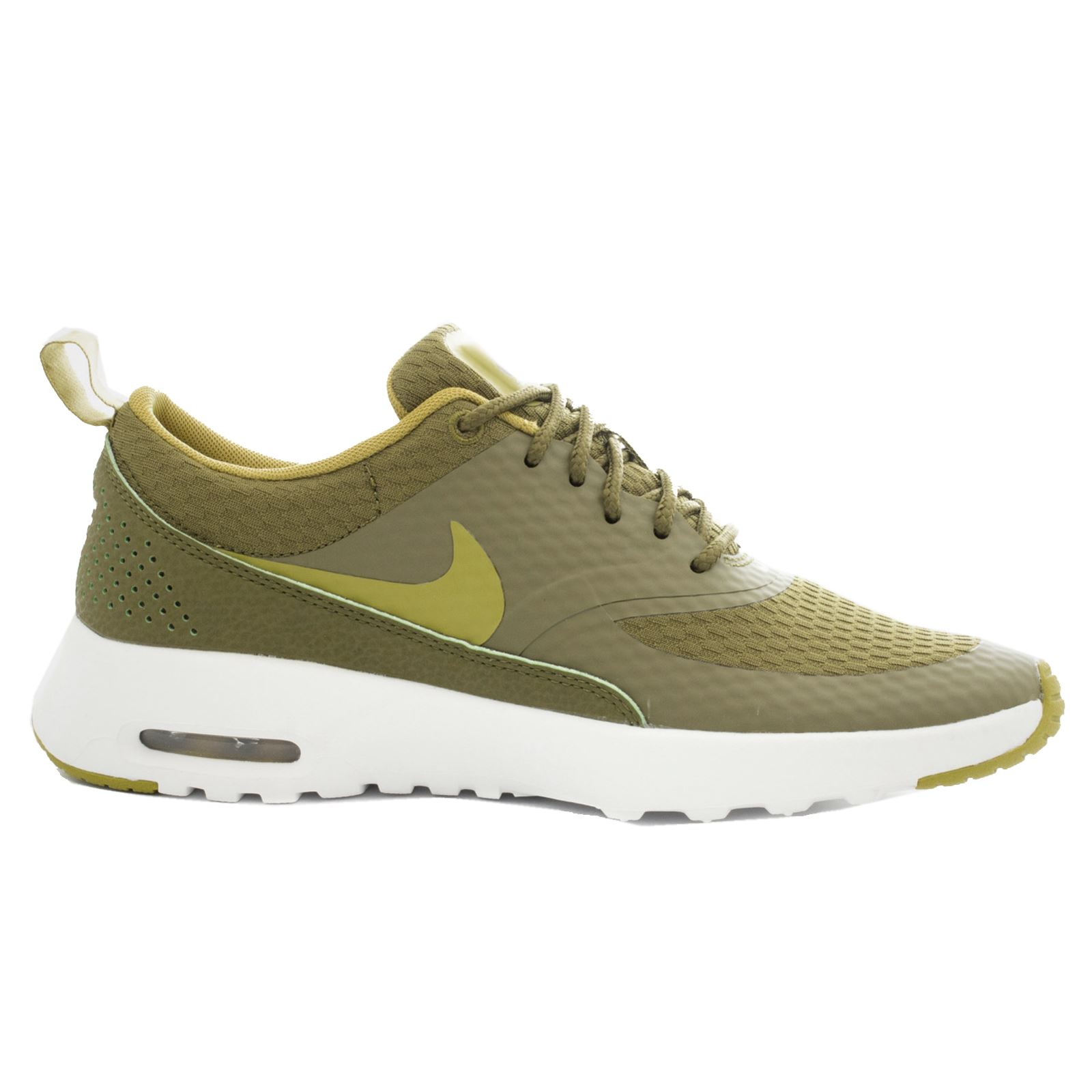 nike air max thea txt olive womens trainers ebay. Black Bedroom Furniture Sets. Home Design Ideas