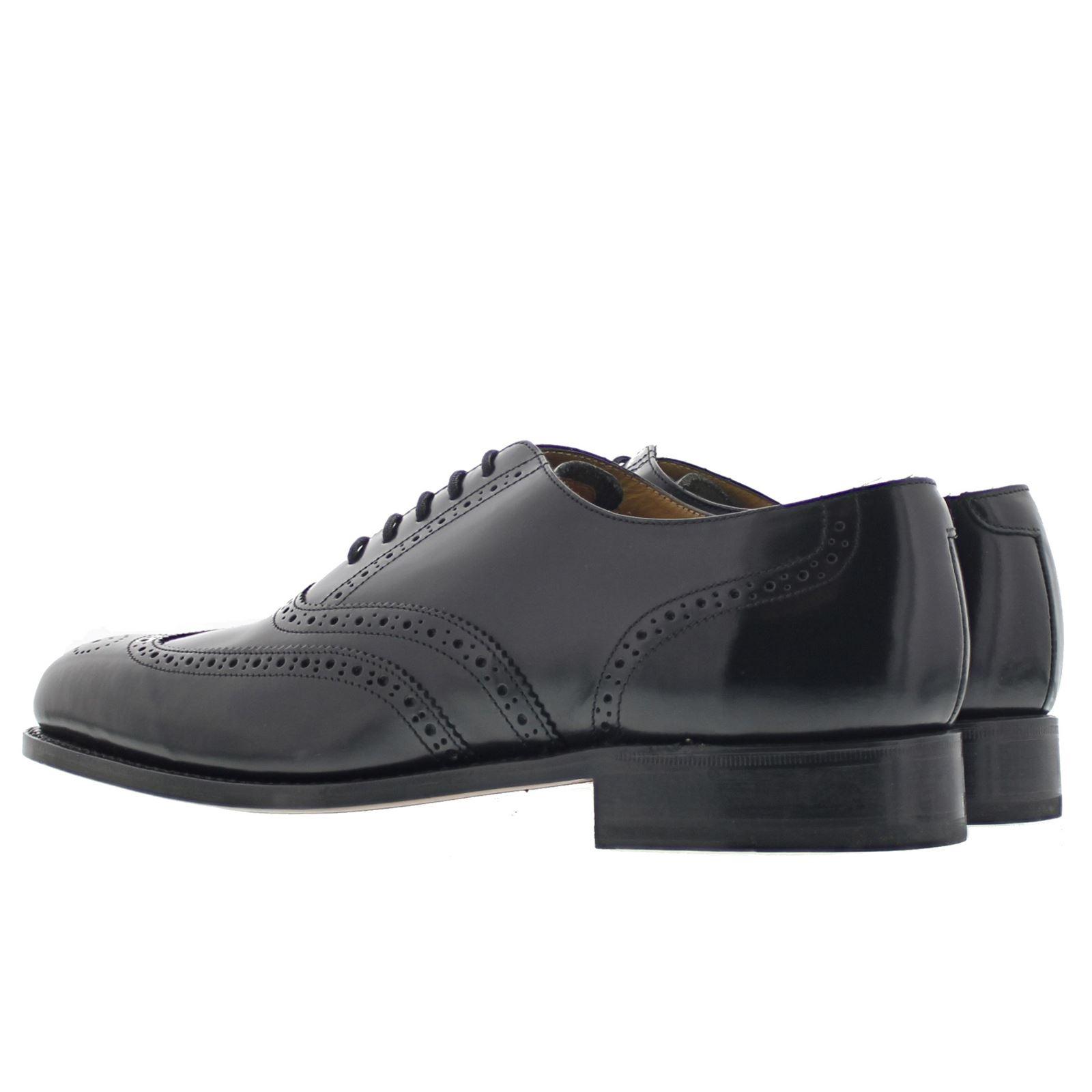 Barker Glasgow Black Mens Shoes