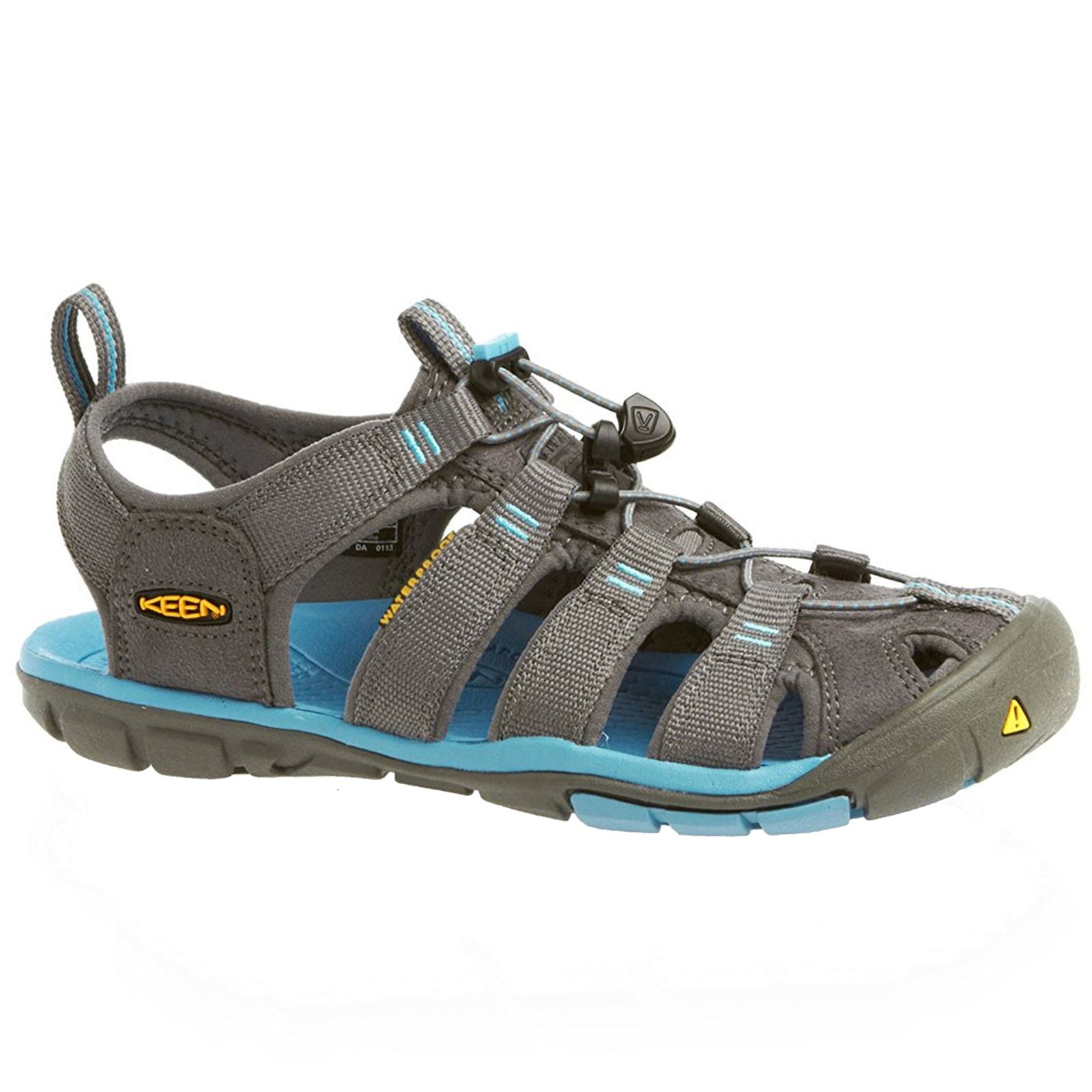 2e223c40b269 Details about Keen Clearwater CNX Gargoyle Norse Blue Womens Outdoor  Walking Sandals Shoes