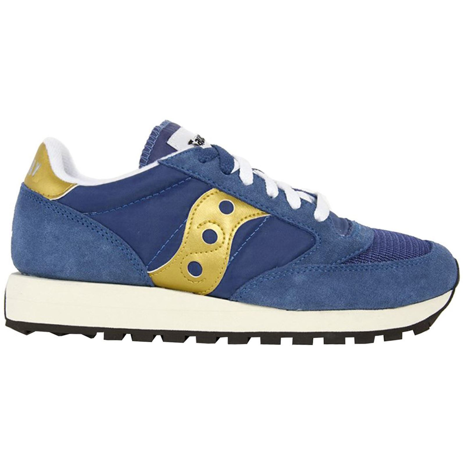 a79e307e Details about Saucony Jazz Original Vintage S70368-22 Navy Gold Mens  Low-top Athletic Trainers
