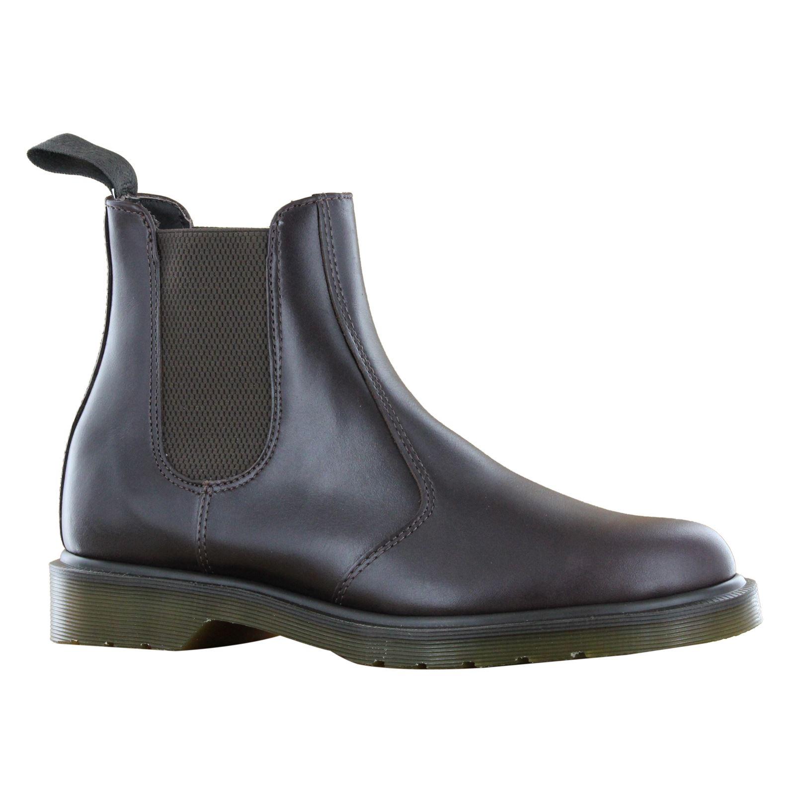 dr martens classic original chelsea dealer leather slip on mens ankle boots ebay. Black Bedroom Furniture Sets. Home Design Ideas
