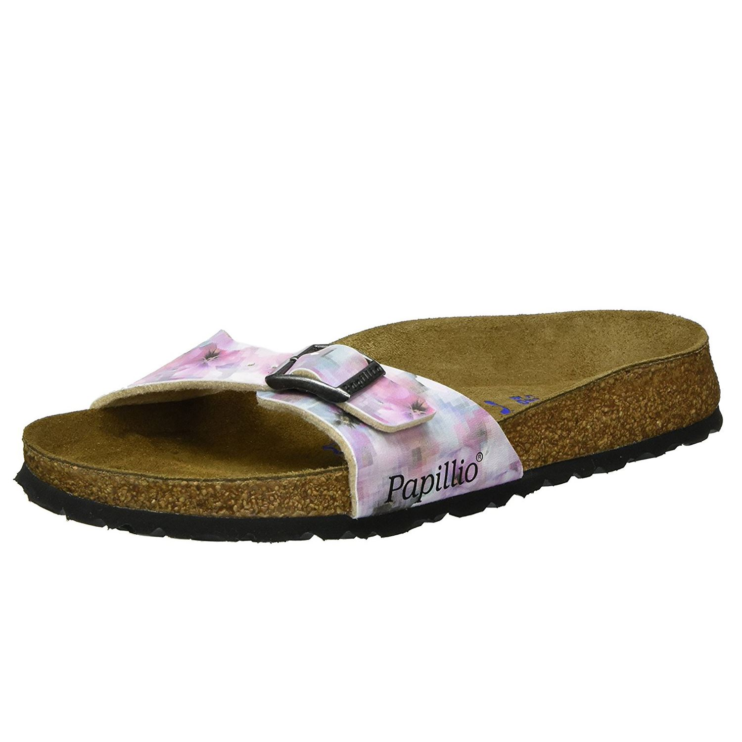 82eac40ac36 Details about Papillio by Birkenstock Madrid Pixel Rose Womens Soft Footbed  Sandals