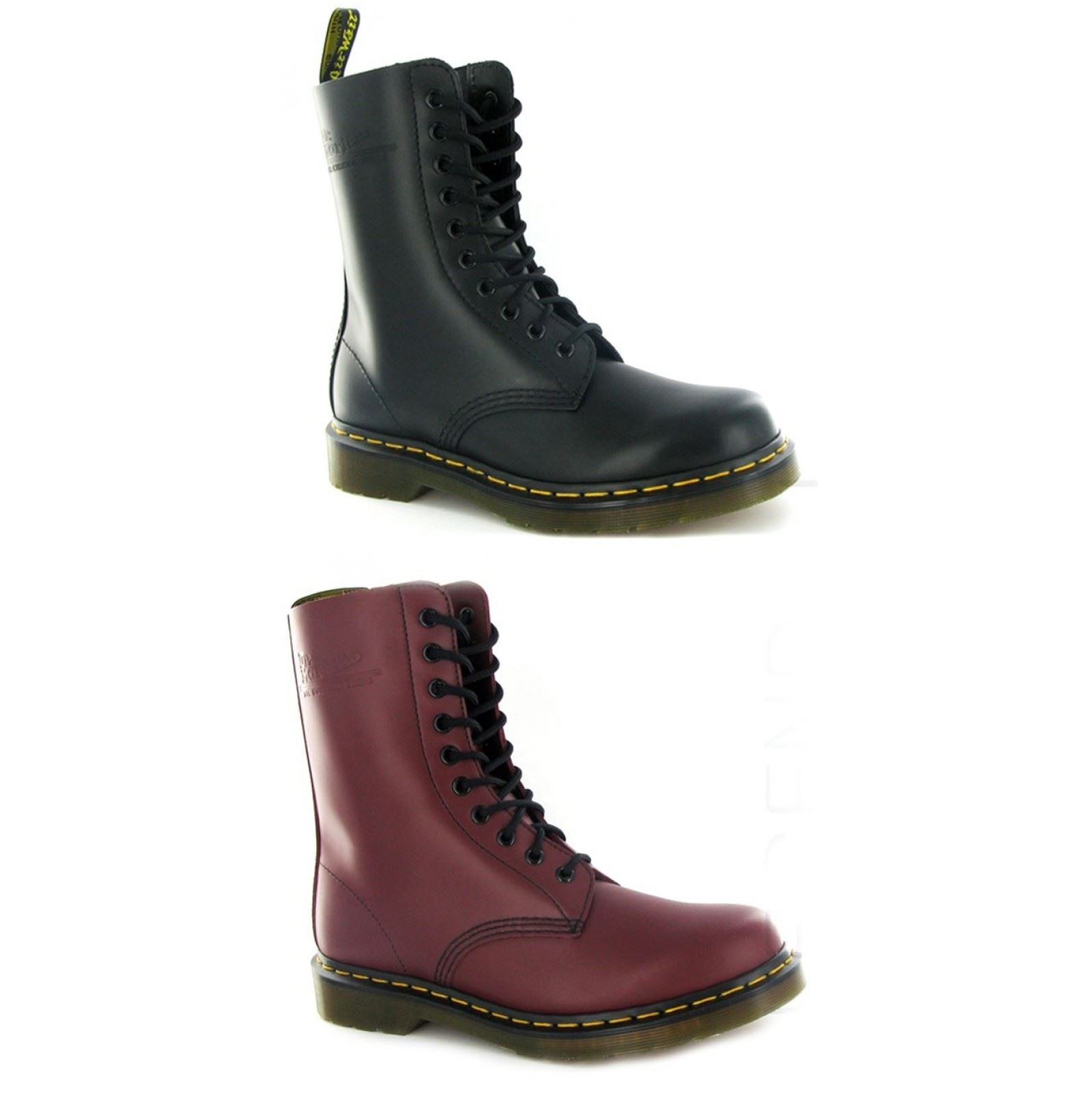 Details about Dr.Martens 1490Z 10 Eyelets Leather Womens Boots da21a9bdcc