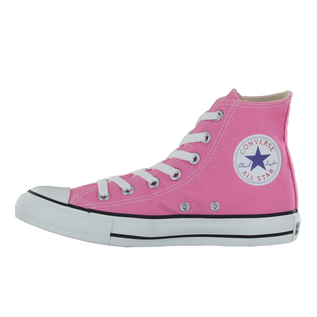 Converse-Chuck-Taylor-All-Star-Hi-Canvas-Mens-Womens-Ladies-Unisex-Trainers miniatuur 25