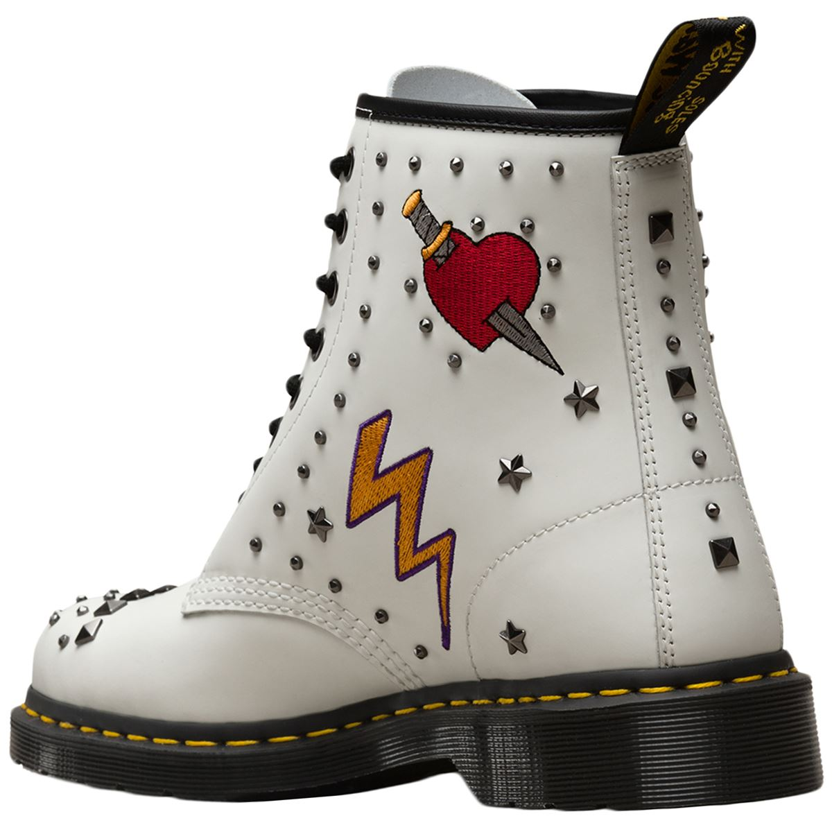 Dr.Martens 1460 Rockabilly Rockabilly Rockabilly Smooth Leather Womens Mens Combat Unisex Boots d28d54