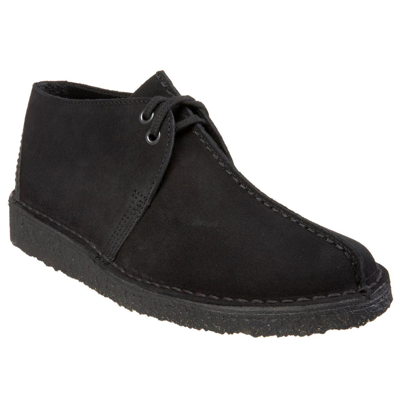 d70ba790a74a Image is loading Clarks-Originals-Desert-Trek-Black-Mens-Shoes