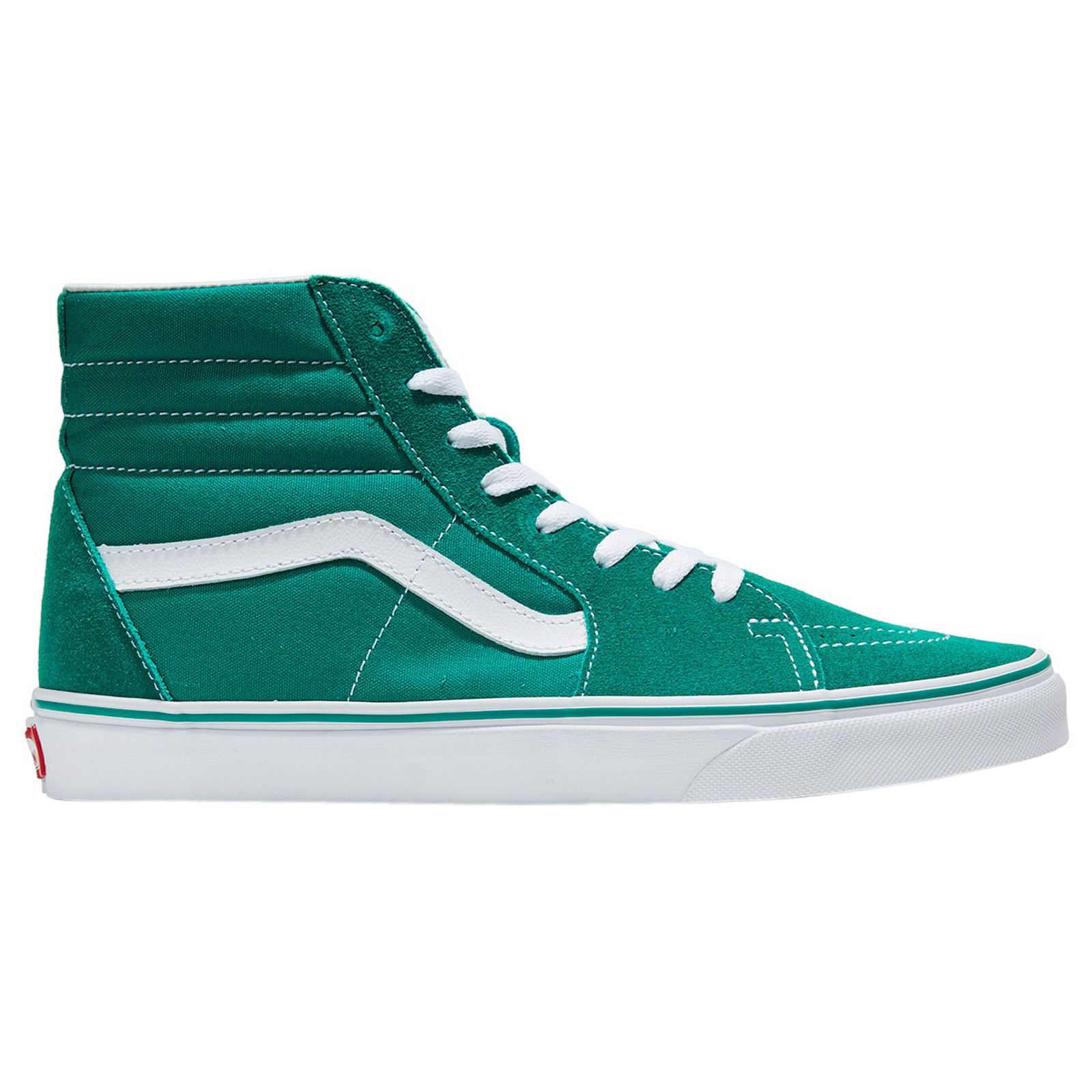 vans green sk8 hi