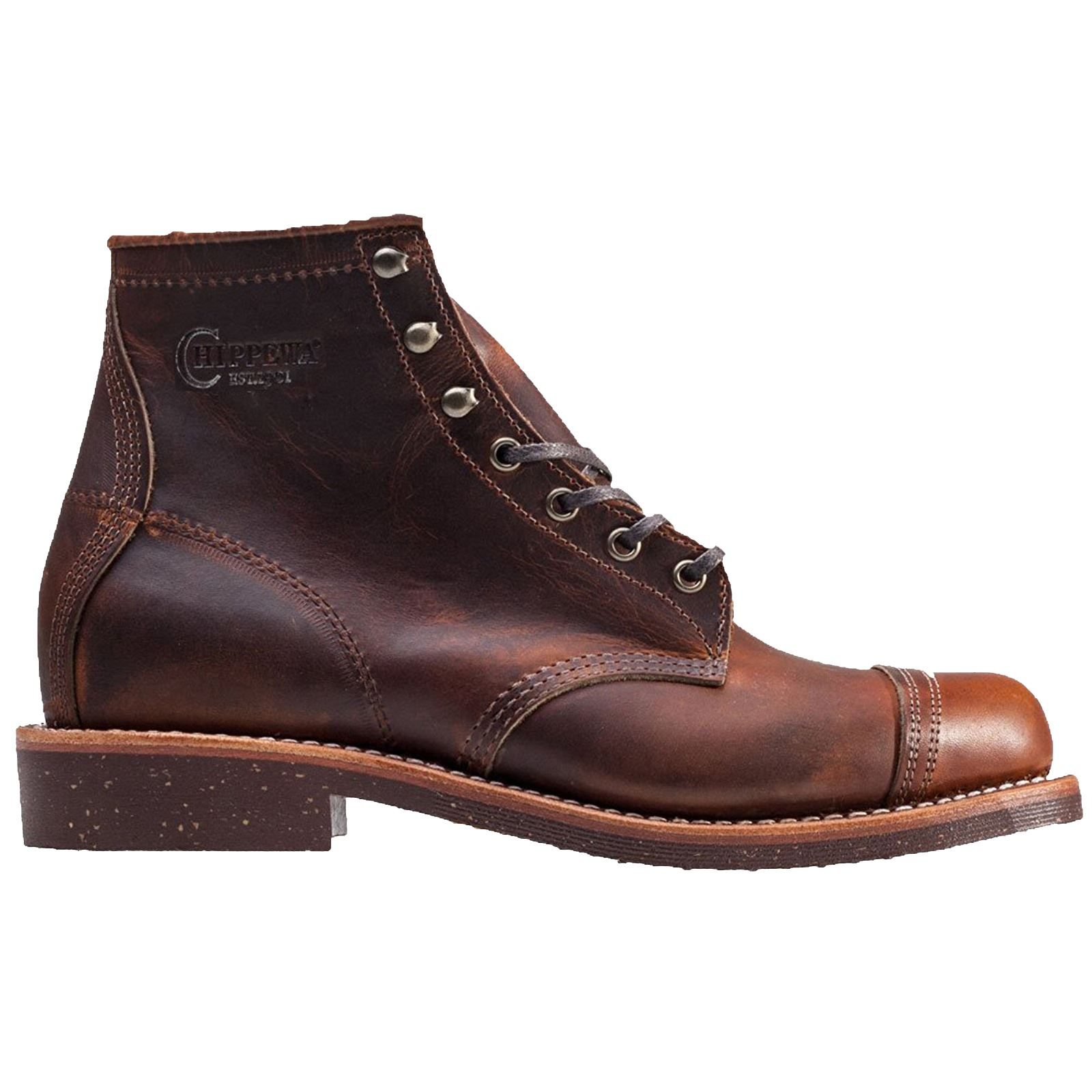 Chippewa 1901g47 Tan Mens Leather Lace Up Ankle Boots Ebay