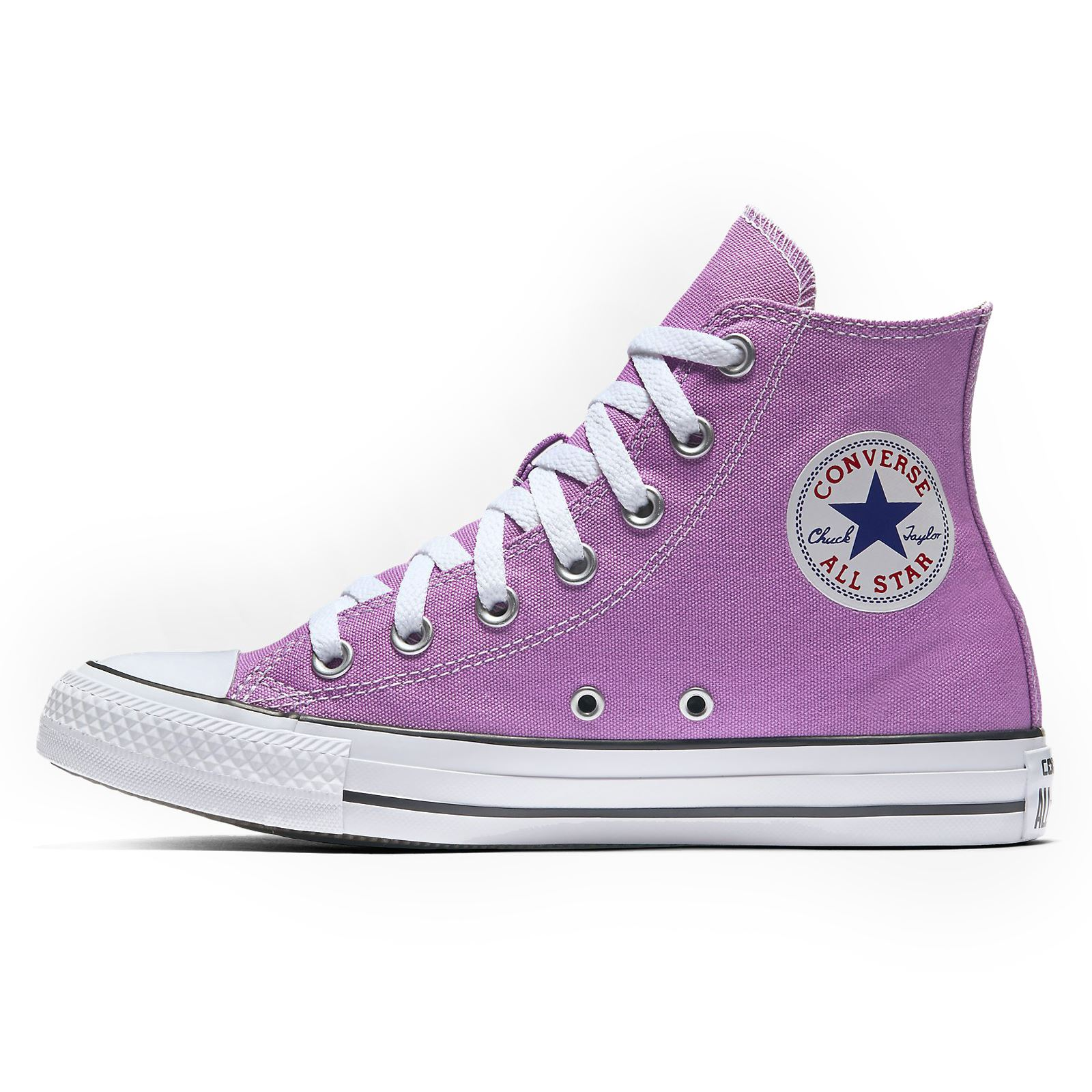 17ac6d63c6df NIB Converse All Star Hi Chuck Taylor Canvas Shoes (Fuchsia Glow) wm ...