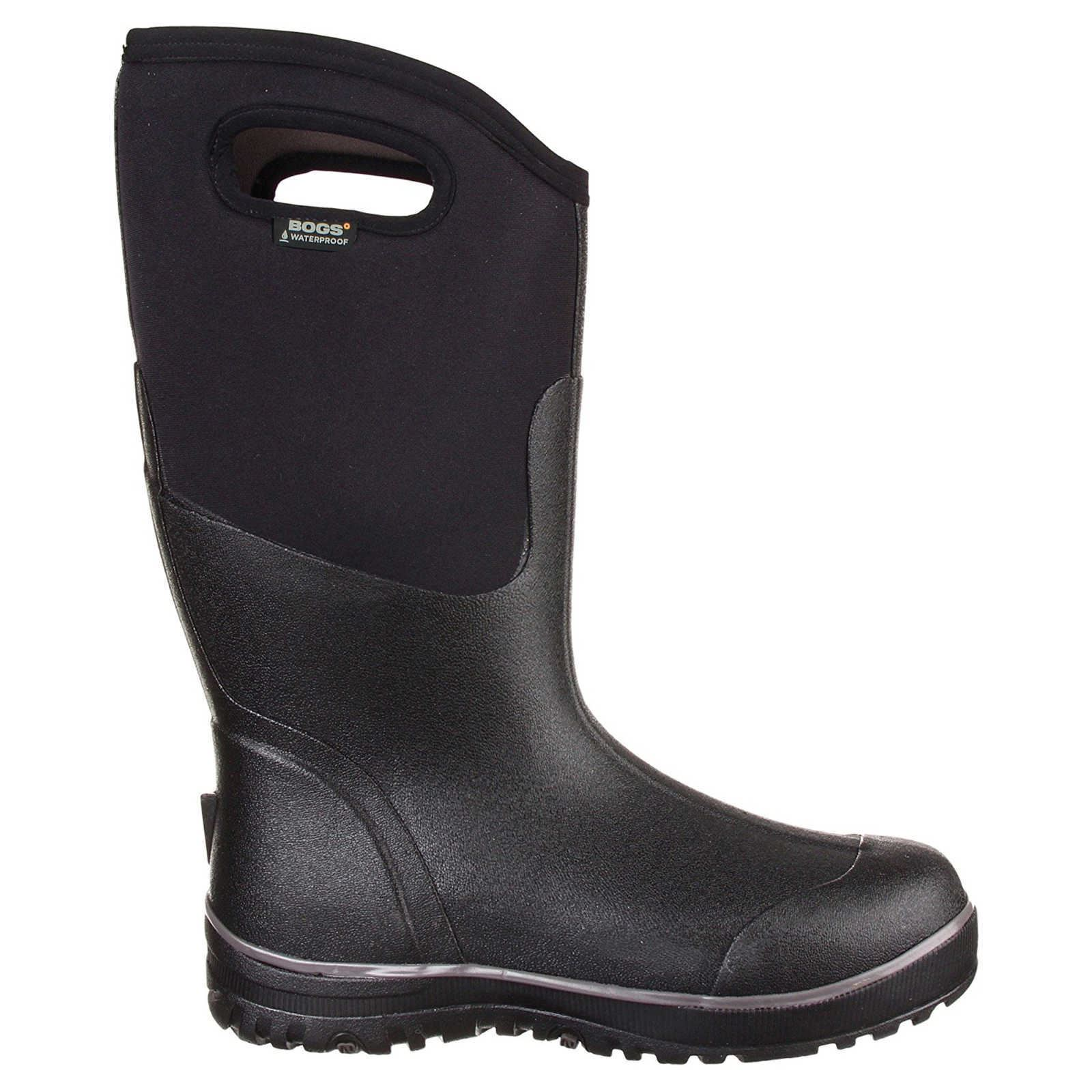 bogs classic ultra high 51377 black mens boots ebay
