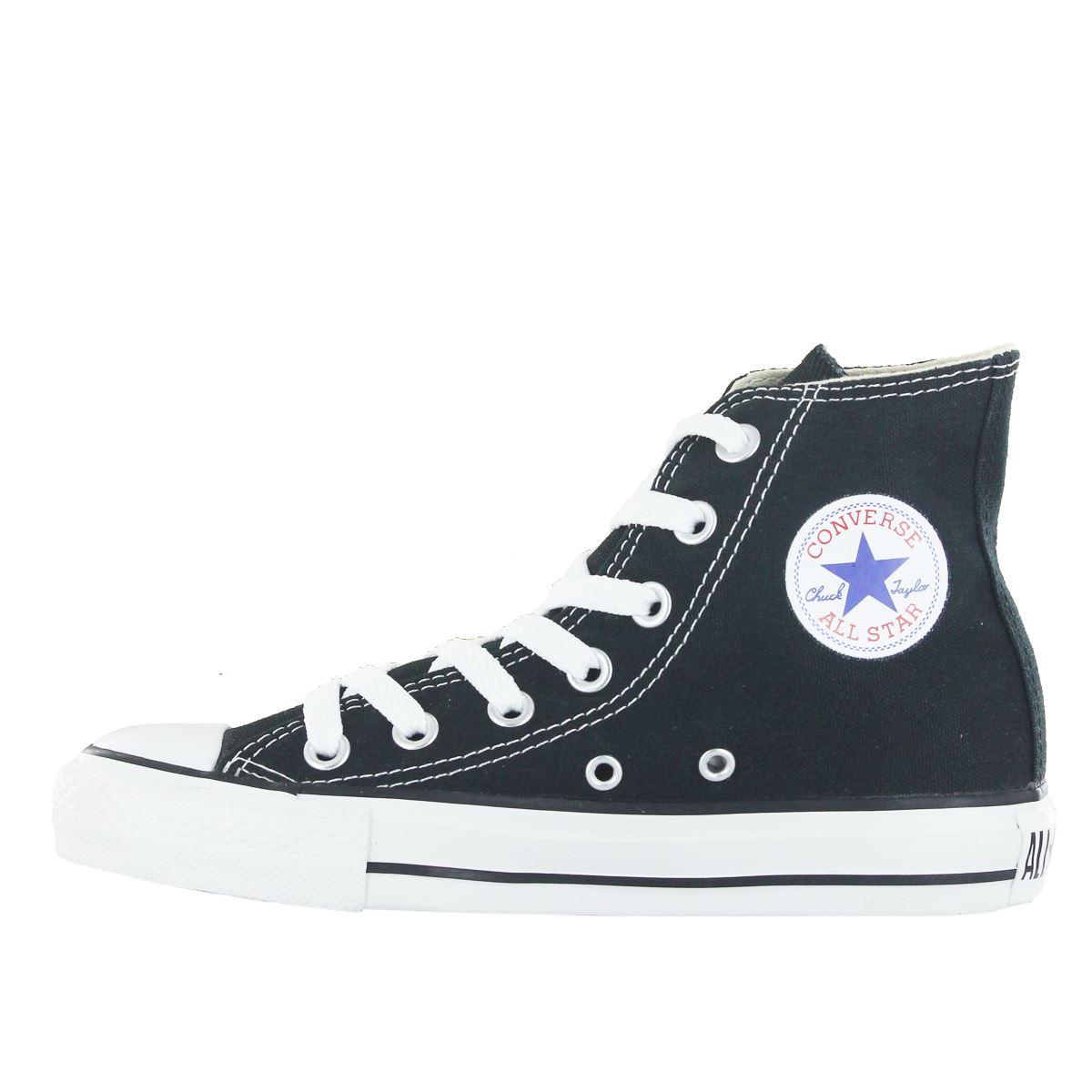 Converse-Chuck-Taylor-All-Star-Hi-Canvas-Mens-Womens-Ladies-Unisex-Trainers miniatuur 7