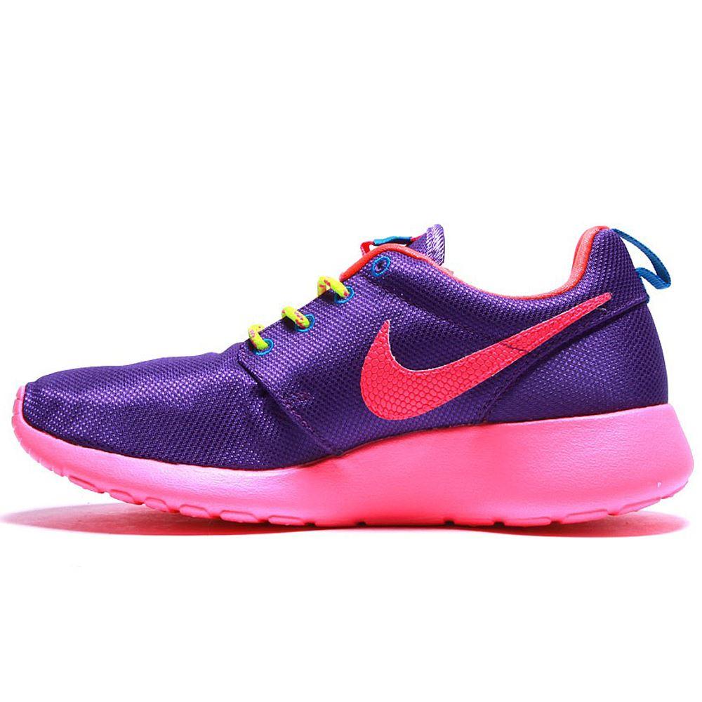 Nike Roshe Run Textile Kids Trainers   eBay