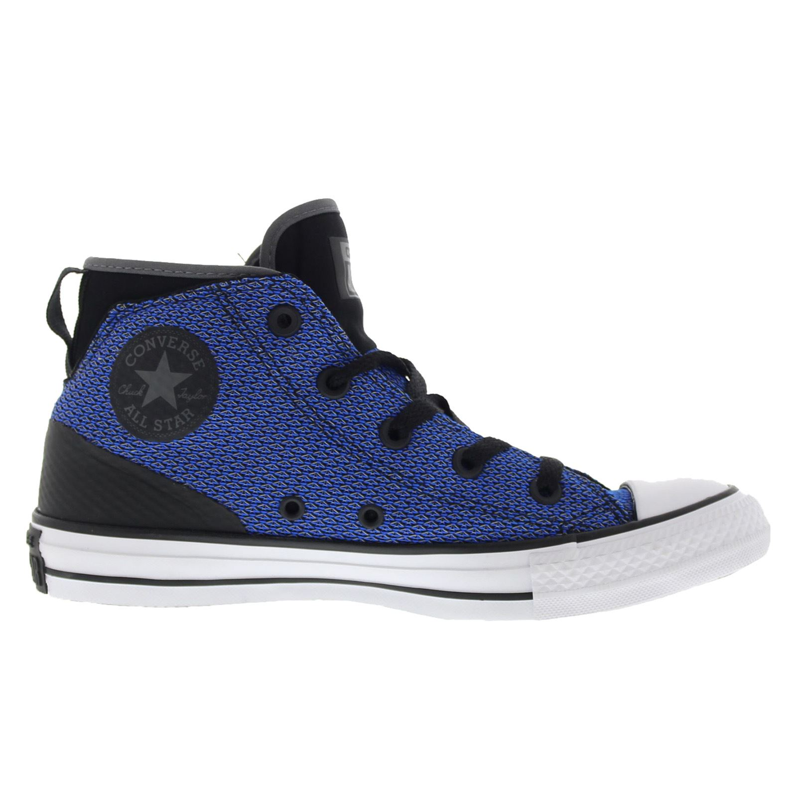 f9a94eca6b84 Converse Chuck Taylor All Star Syde Street Black Blue Womens High Top  Trainers