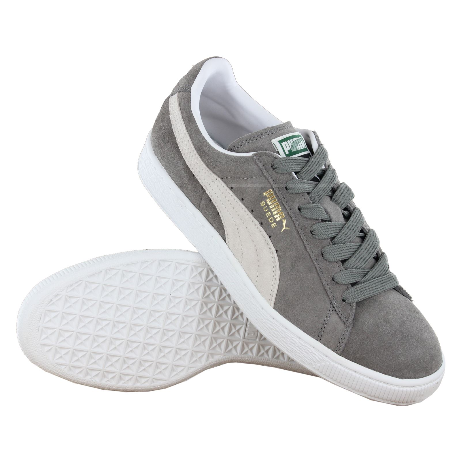 Puma-Classic-Suede-Women-Men-Unisex-Retro-Low-Top-Trainers