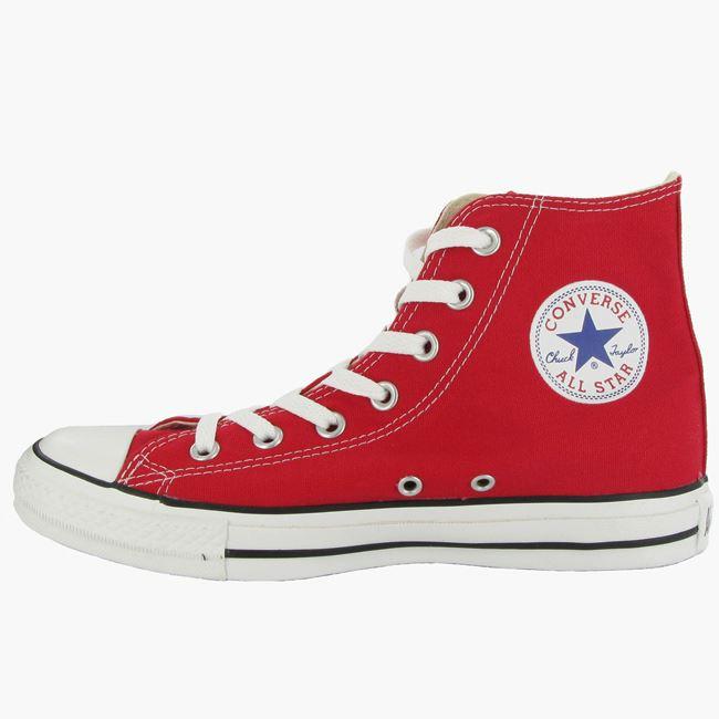 Converse-Chuck-Taylor-All-Star-Hi-Canvas-Mens-Womens-Ladies-Unisex-Trainers miniatuur 29