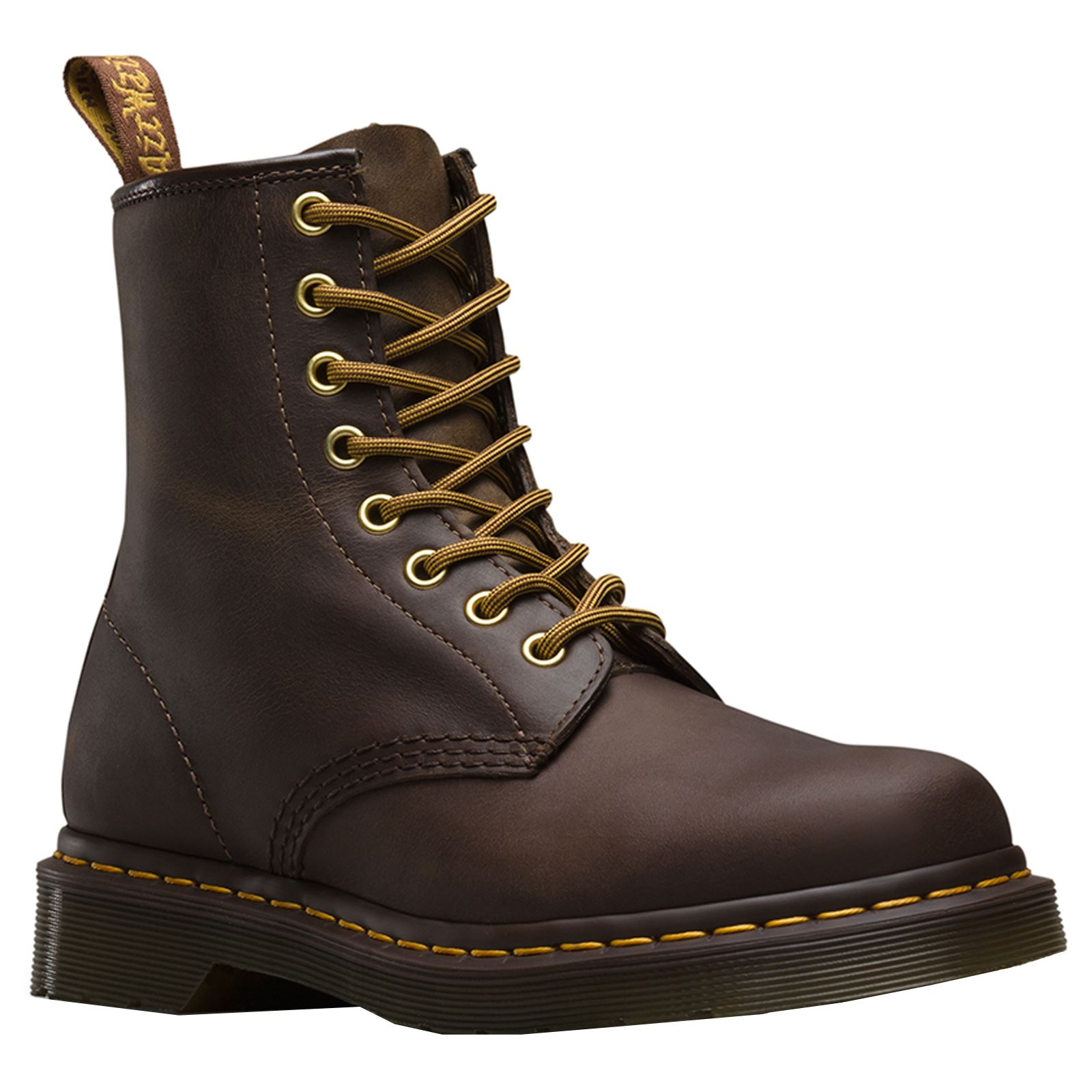 Details about Dr.Martens 1460 8 Eyelet Aztec Womens Crazy Horse Mid-calf  AirWair Ankle Boots a88191ed7