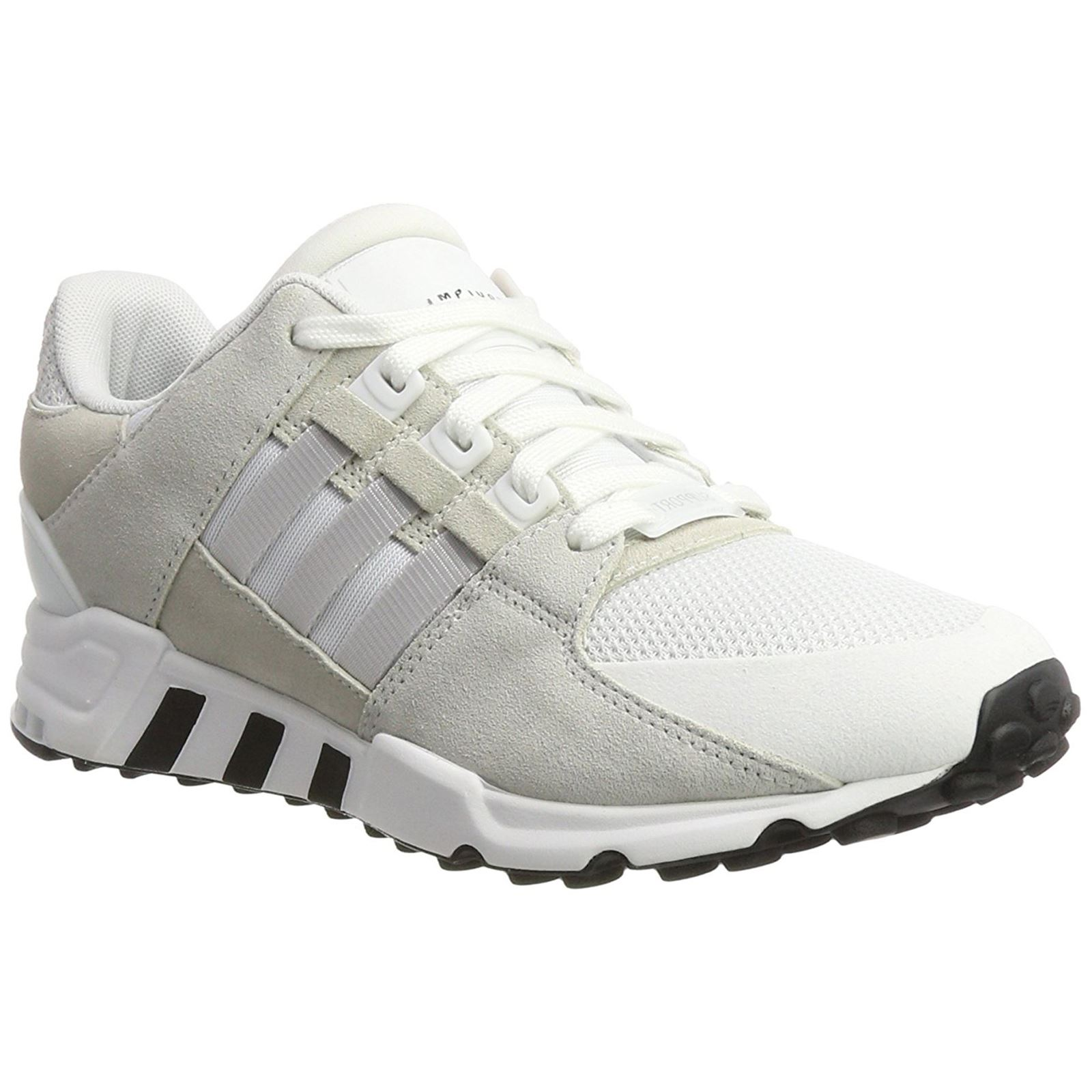 60abd21456c6b Adidas EQT Support RF Footwear White Grey One Mens Mesh Suede Low-tops  Trainers