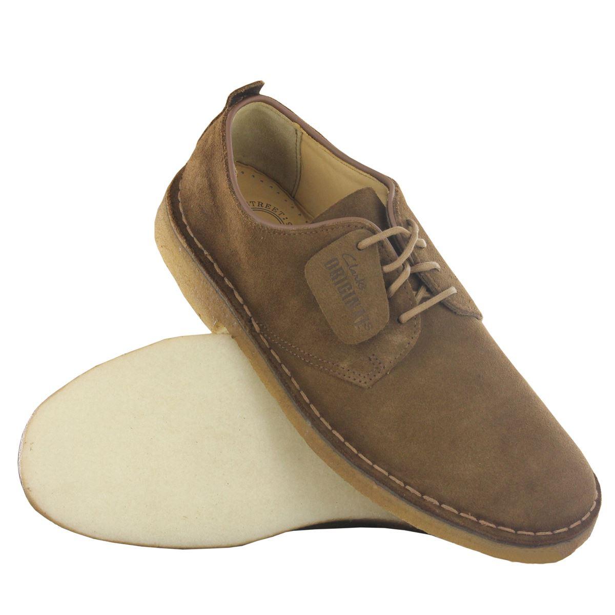 Clarks-Original-Classic-Desert-London-Suede-leather-Mens-
