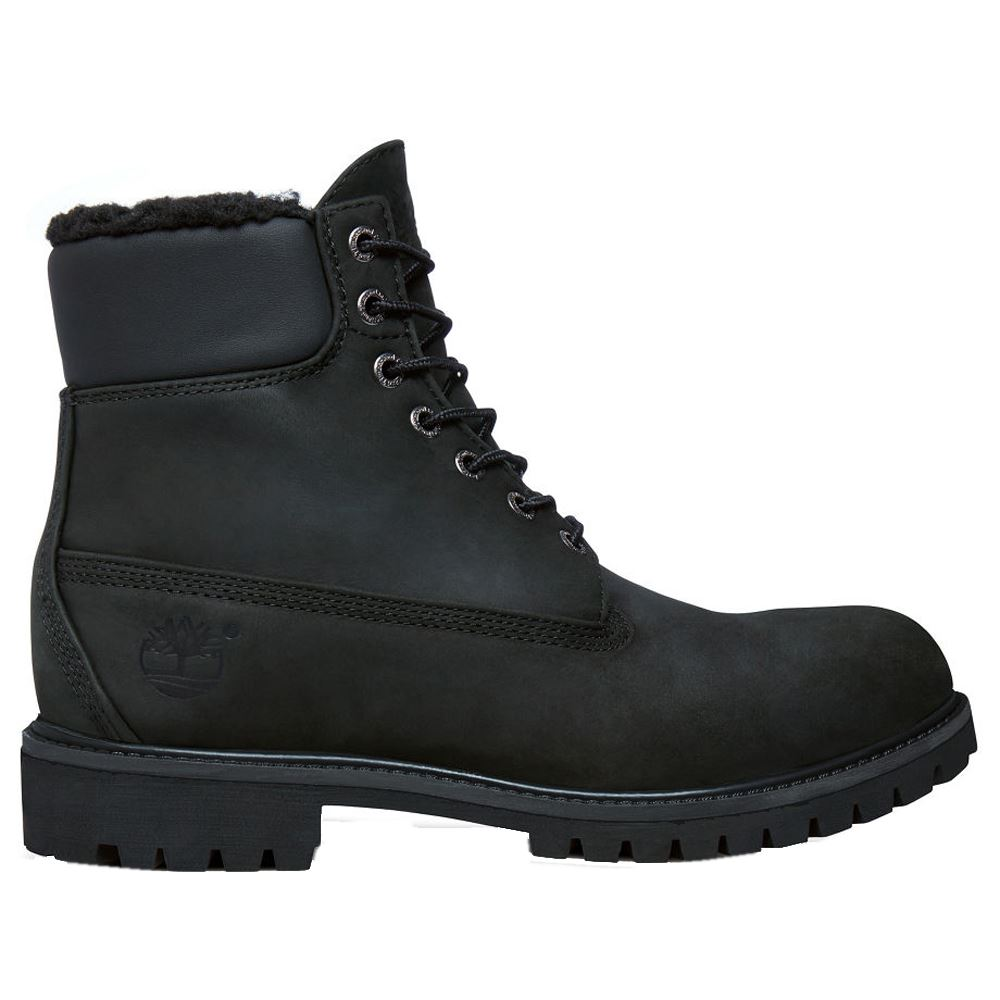 timberland heritage 6 inch black mens boots. Black Bedroom Furniture Sets. Home Design Ideas