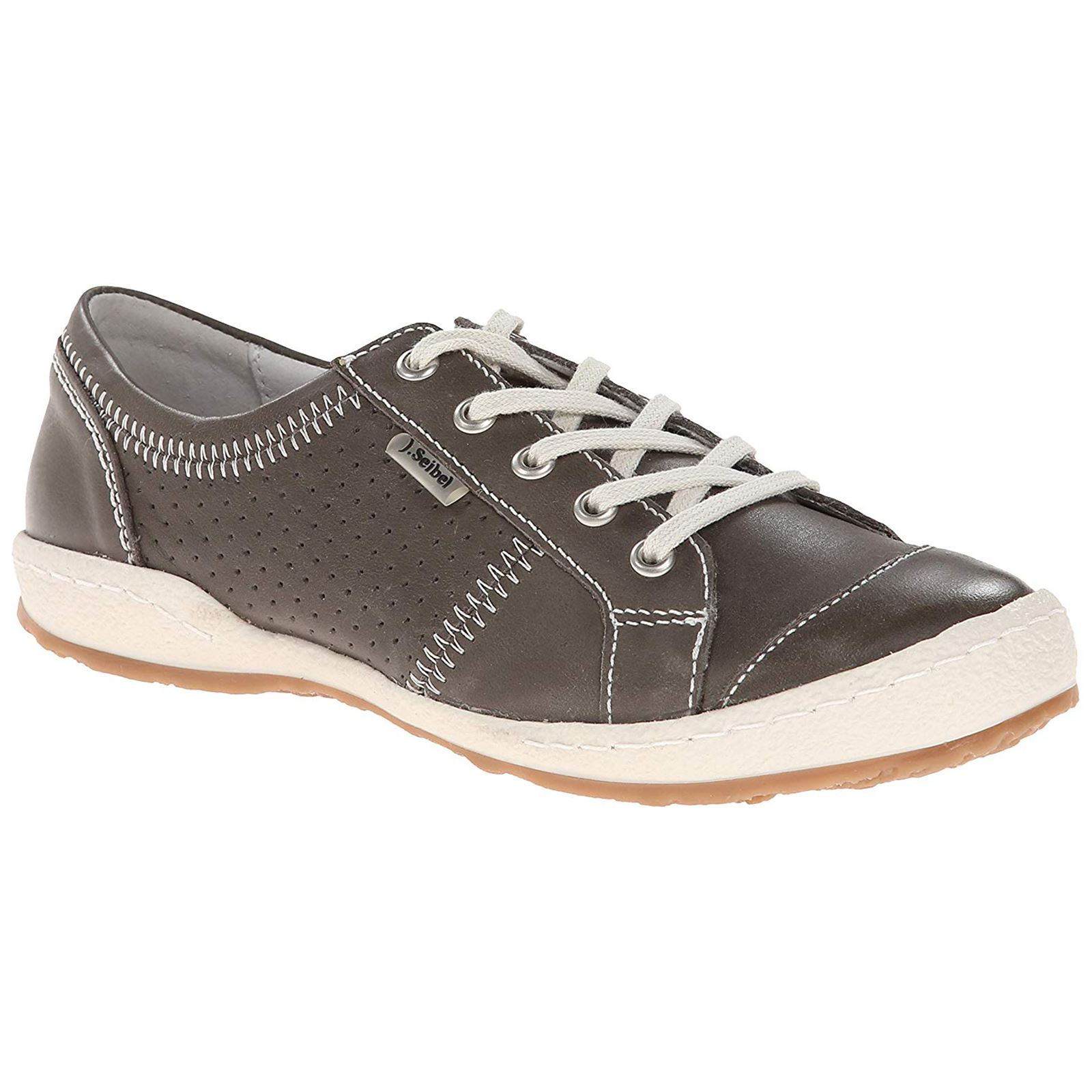 6c66ca03ab06e Details about Josef Seibel Caspian Grey Womens Low-top Trainers