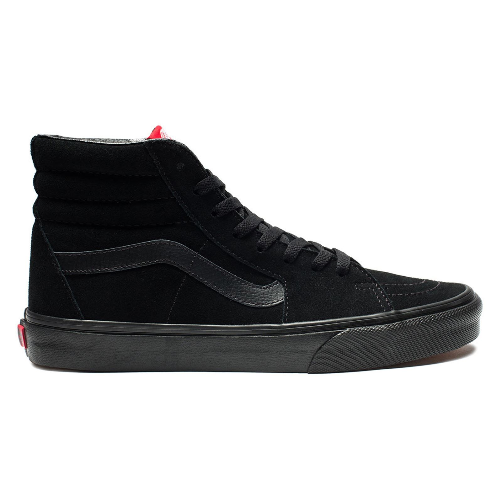 7656b1ca8f Image is loading Vans-Womens-SK8-Hi-Suede-Trainers