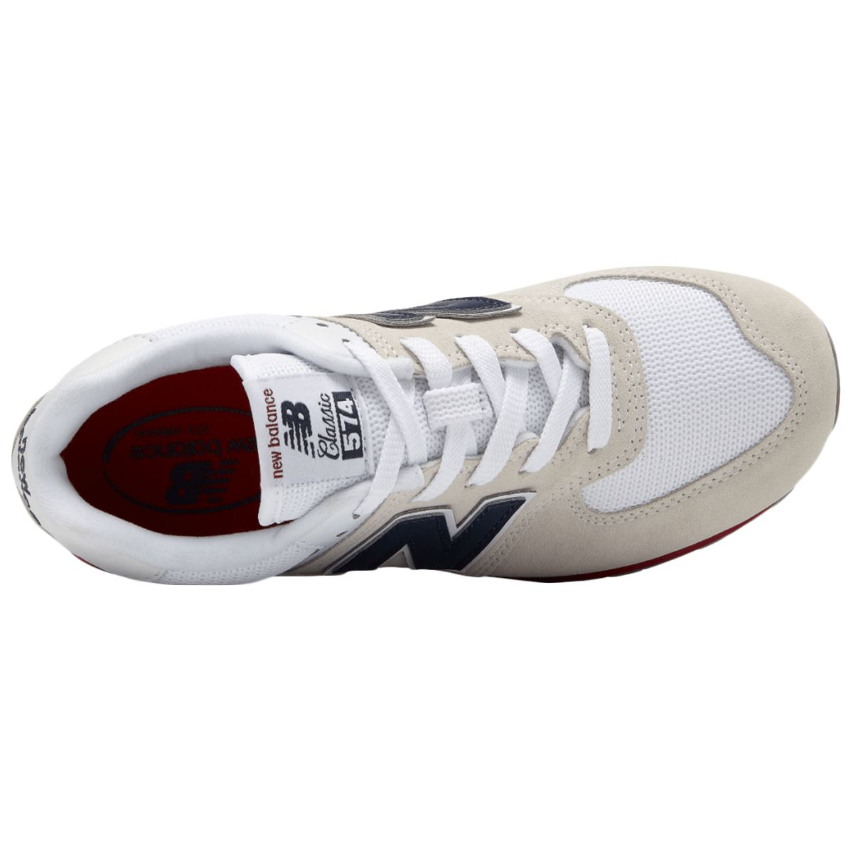 New-Balance-GC574-Suede-Mesh-Low-Top-Lace-Up-Running-Shoes-Youth-Trainers