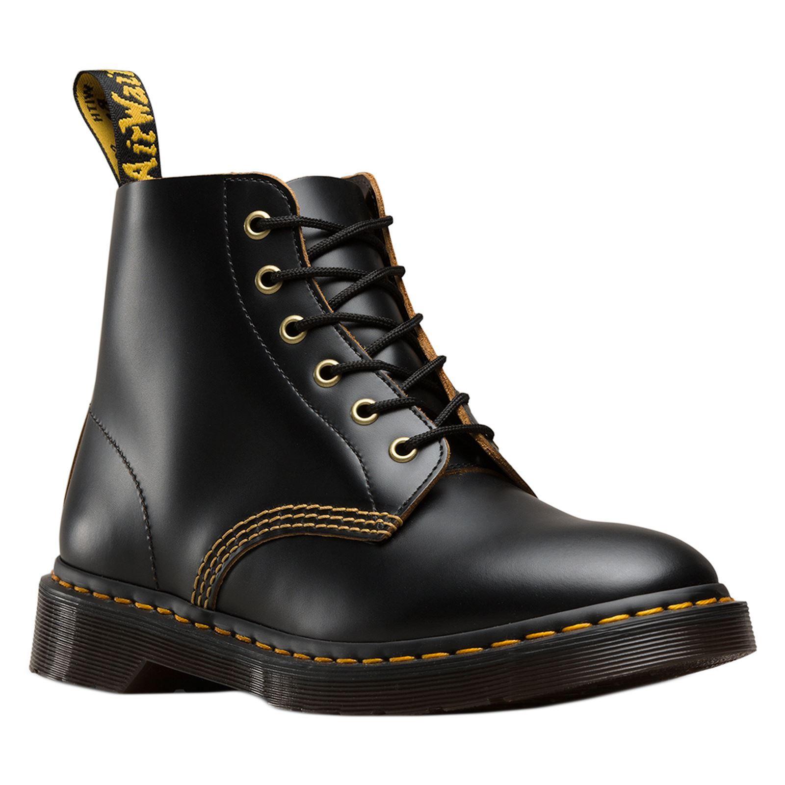 Details zu Dr.Martens Unisex 101 Arc 6 Eyelet Leather Boots