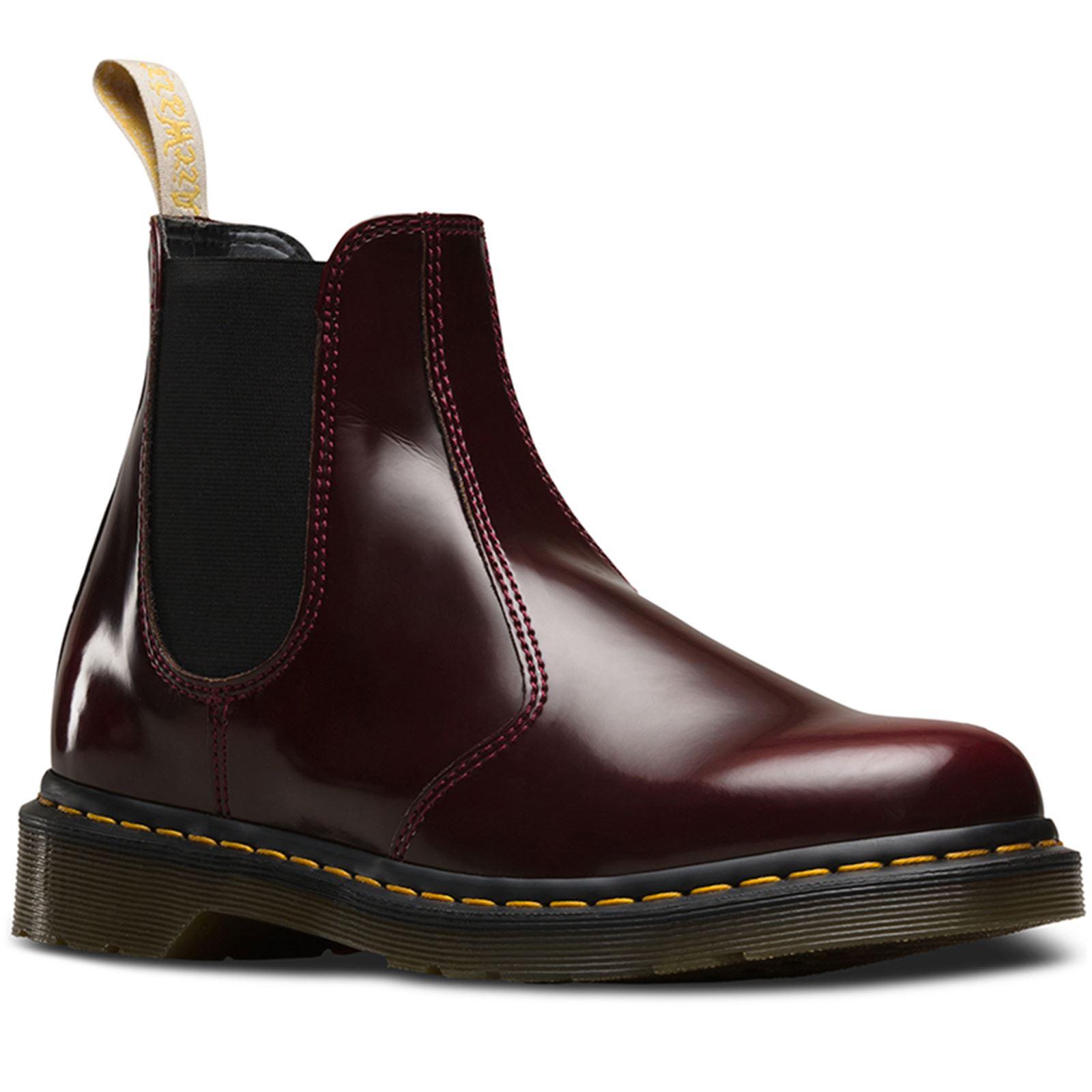 2ee3110d54a19 Dr.Martens 2976 Vegan Cherry Women Chelsea Boots