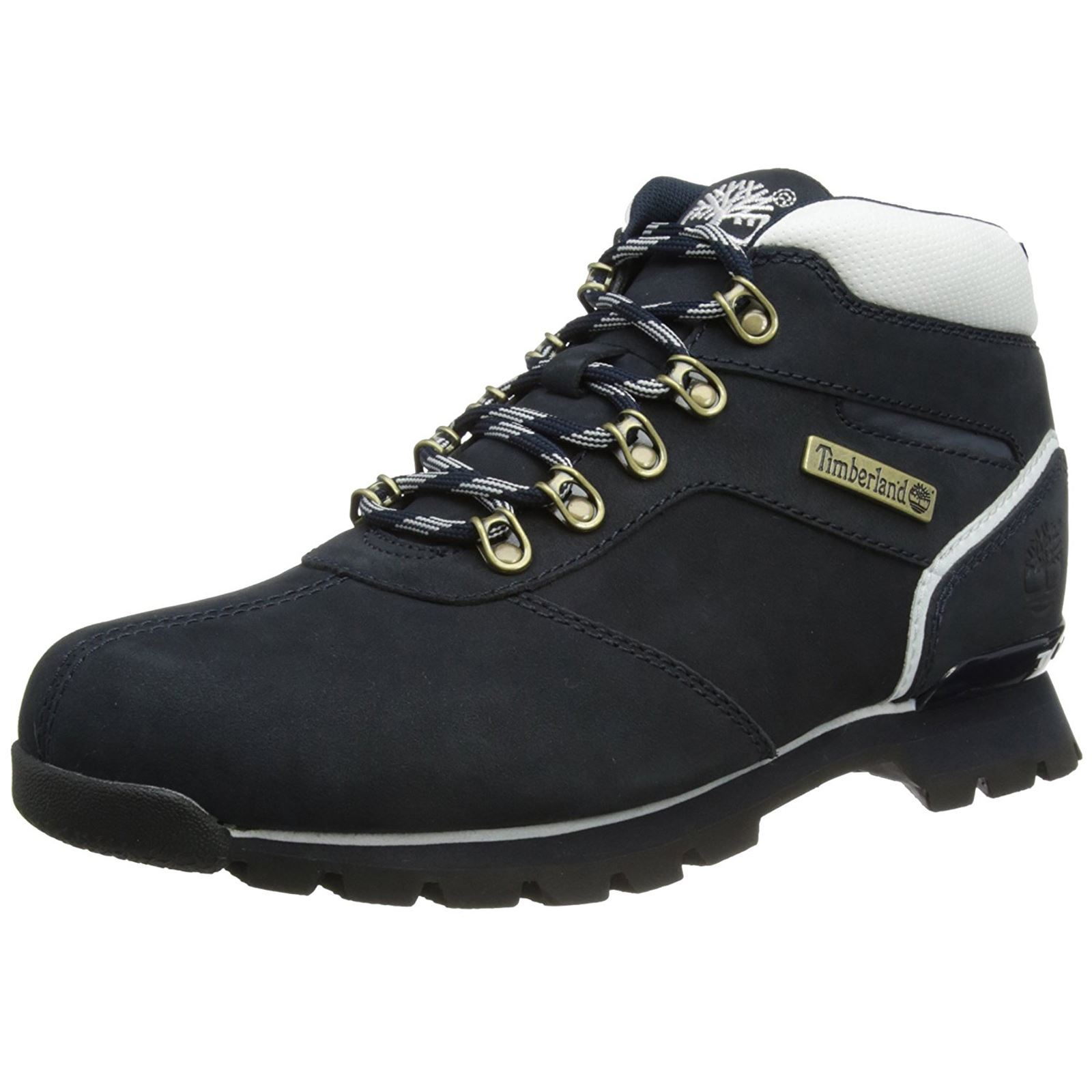 Timberland Splitrock 2 Hiker Navy Mens Leather Ankle Boots  0eb52afc08fe