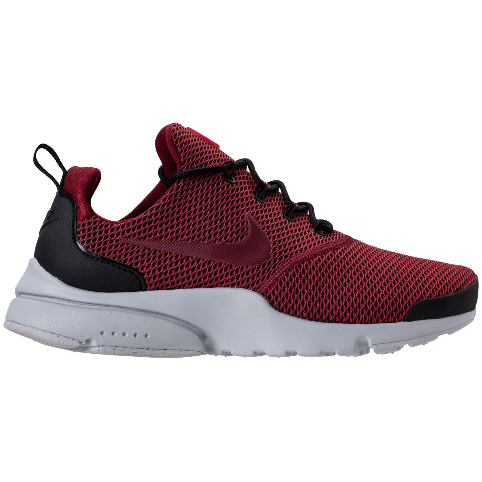 Dettagli su Nike Presto FLY se Nero Rosso Da Uomo Cross Fit Low Top Scarpe Da Ginnastica Athletic scarpe da ginnastica mostra il titolo originale