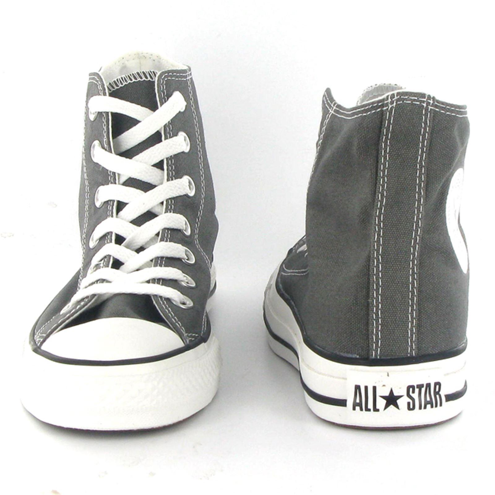 Converse-Chuck-Taylor-All-Star-Hi-Canvas-Mens-Womens-Ladies-Unisex-Trainers miniatuur 23